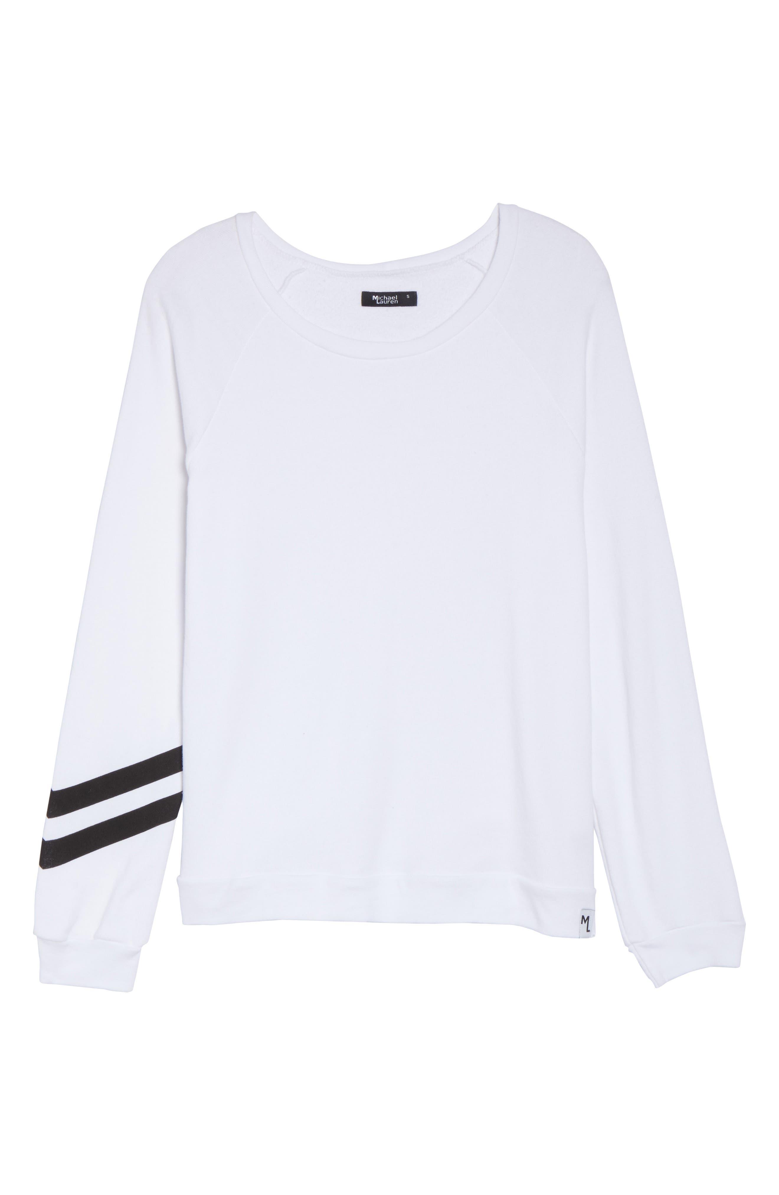 Oswald Vintage Sweatshirt,                             Alternate thumbnail 6, color,                             100