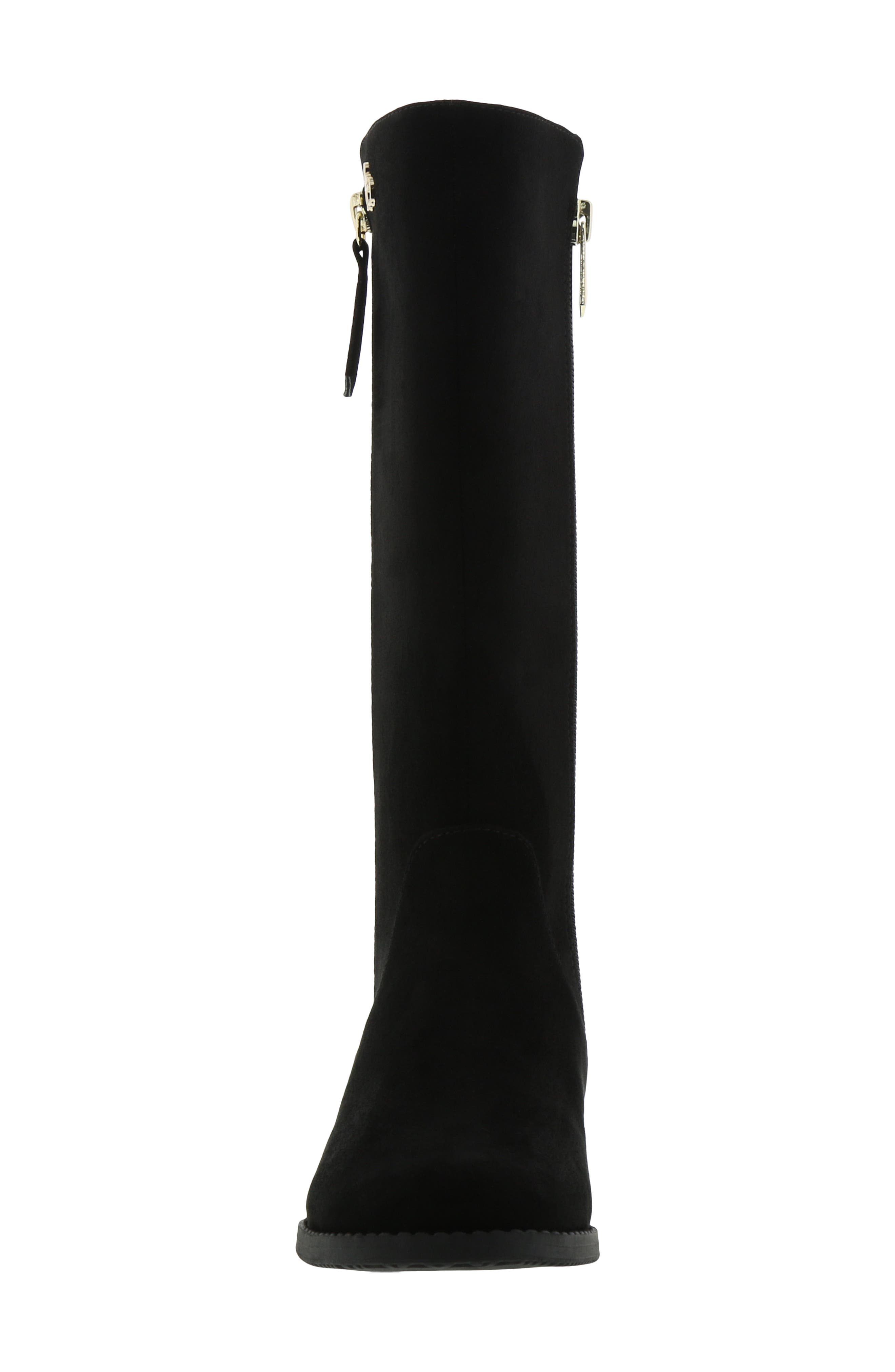 Kendall Bethany Boot,                             Alternate thumbnail 4, color,                             BLACK