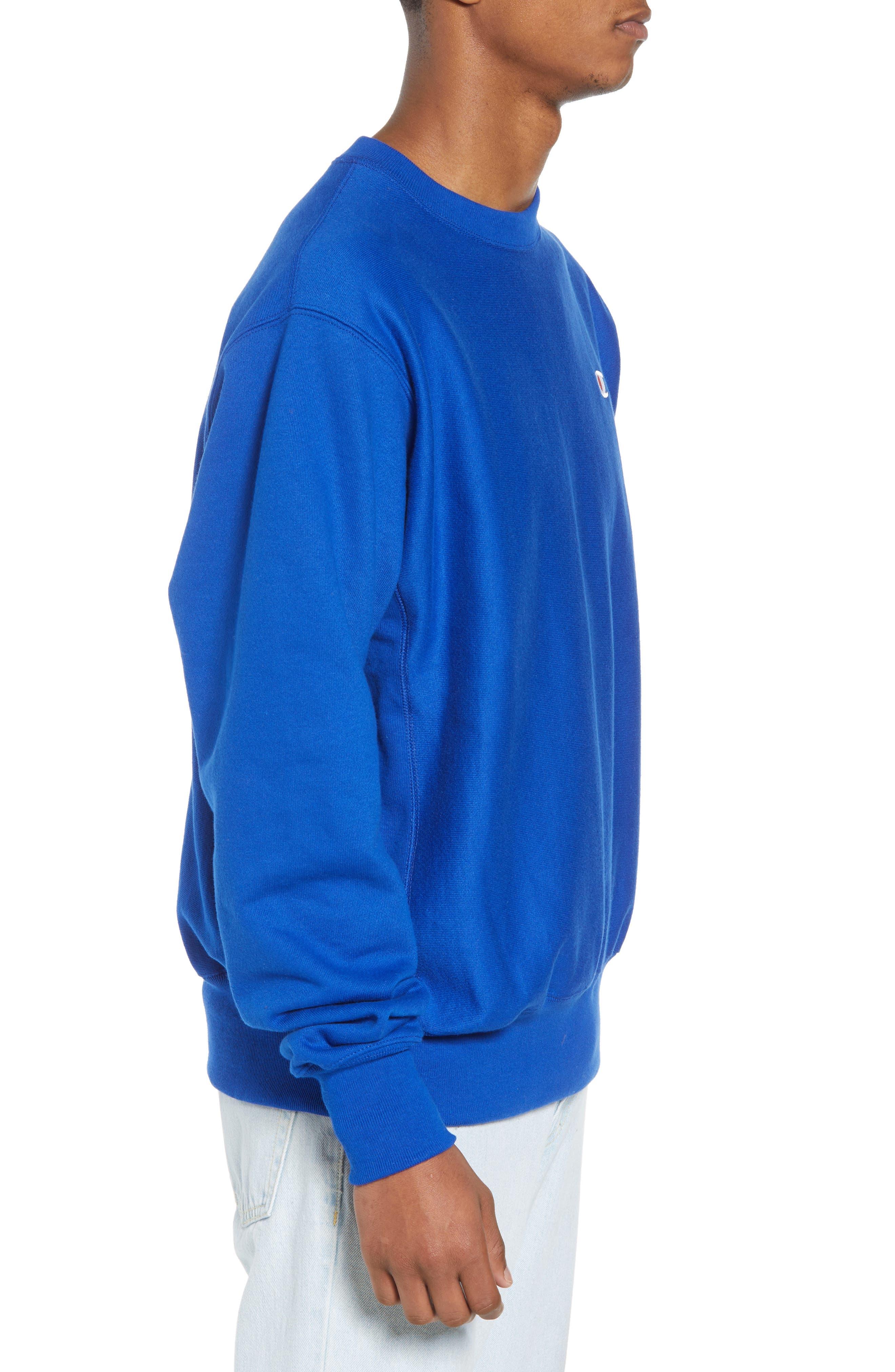 Reverse Weave Sweatshirt,                             Alternate thumbnail 19, color,