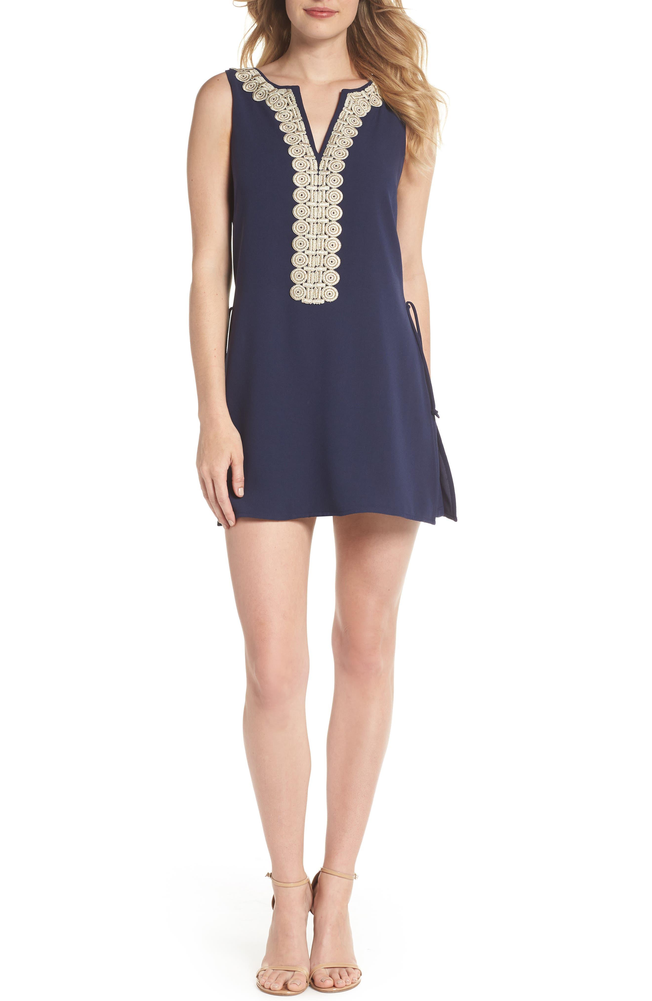 Donna Romper Dress,                         Main,                         color, 408