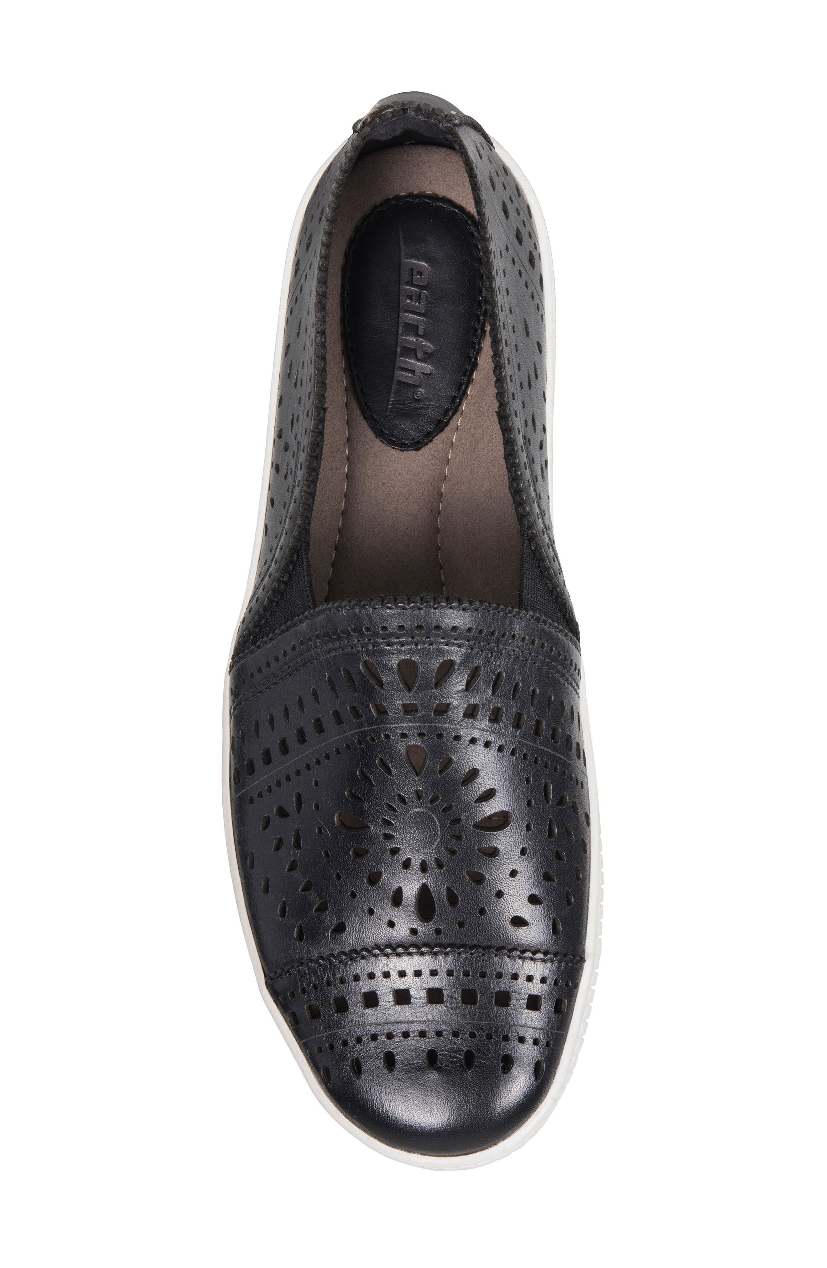 Tayberry Perforated Slip-On Sneaker,                             Alternate thumbnail 17, color,