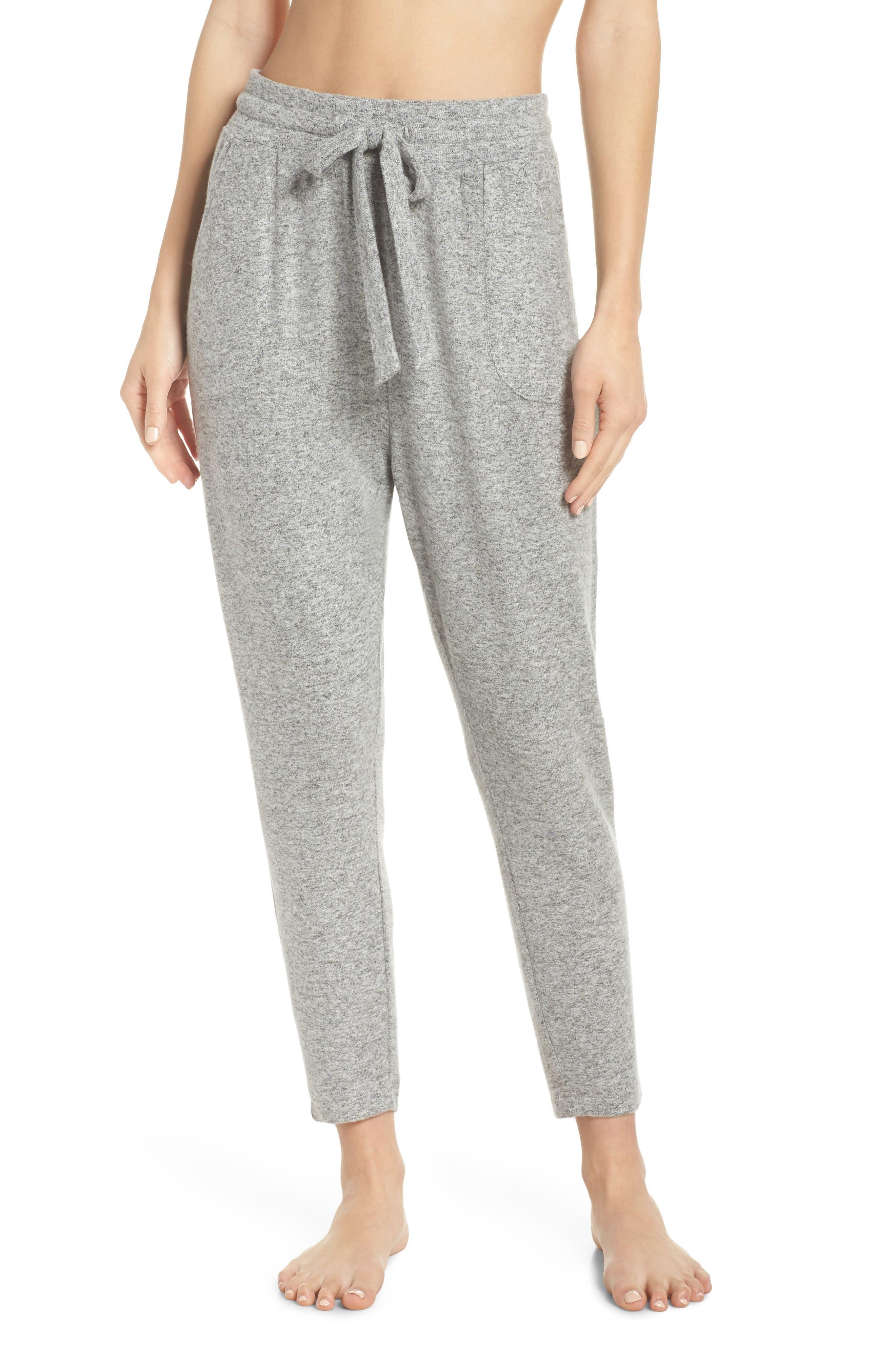 Brushed Hacci Lounge Jogger Pants,                         Main,                         color, 030