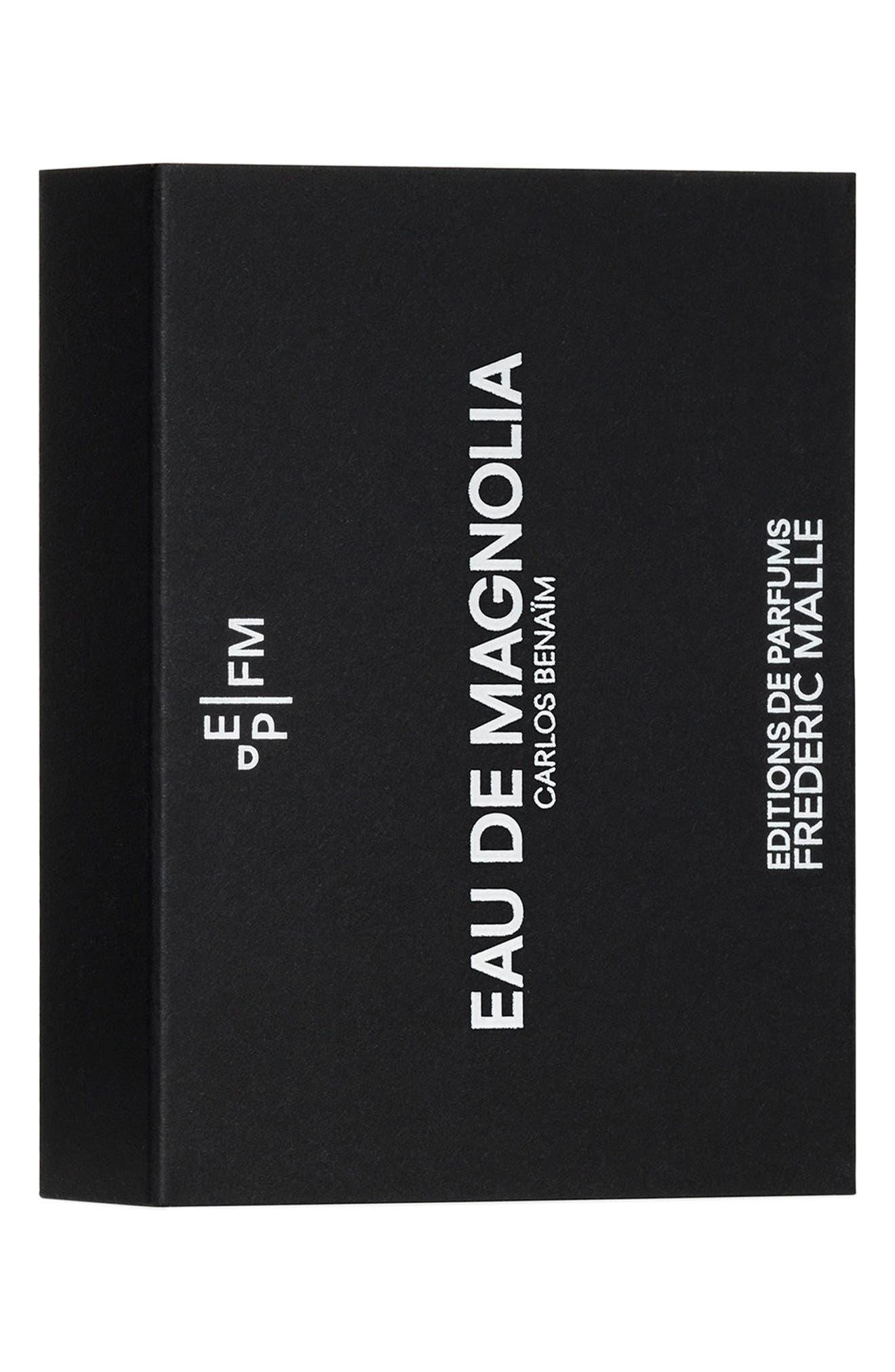 Editions de Parfums Frédéric Malle Eau de Magnolia Fragrance Travel Spray Trio,                             Alternate thumbnail 3, color,                             NO COLOR