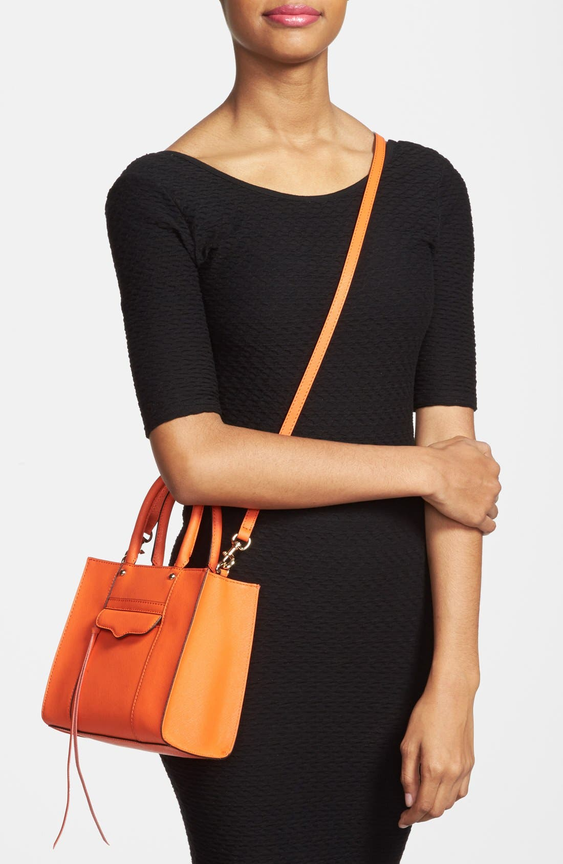 'Mini MAB Tote' Crossbody Bag,                             Alternate thumbnail 121, color,