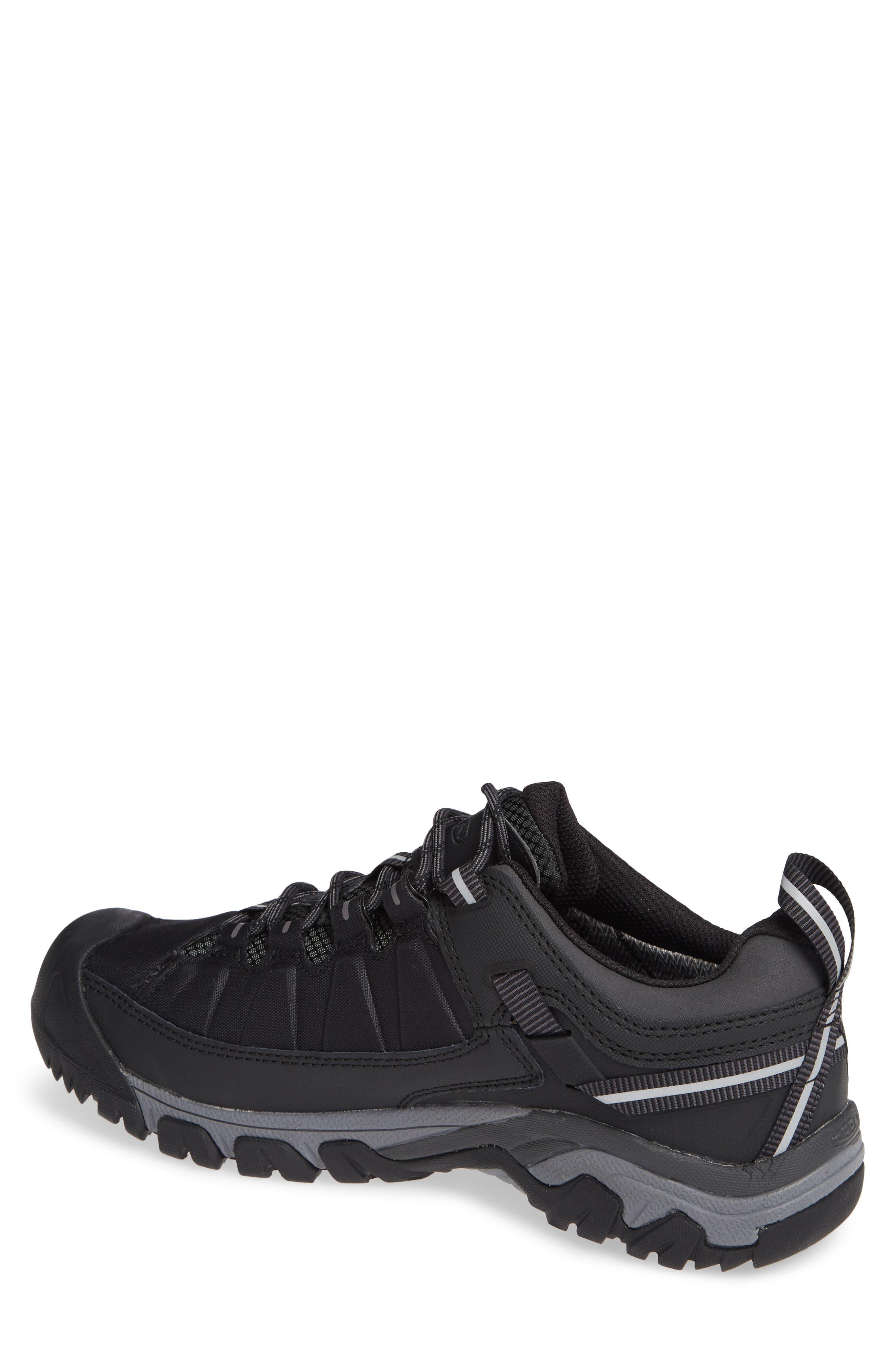 Targhee EXP Waterproof Hiking Shoe,                             Alternate thumbnail 2, color,                             BLACK/ STEEL GREY