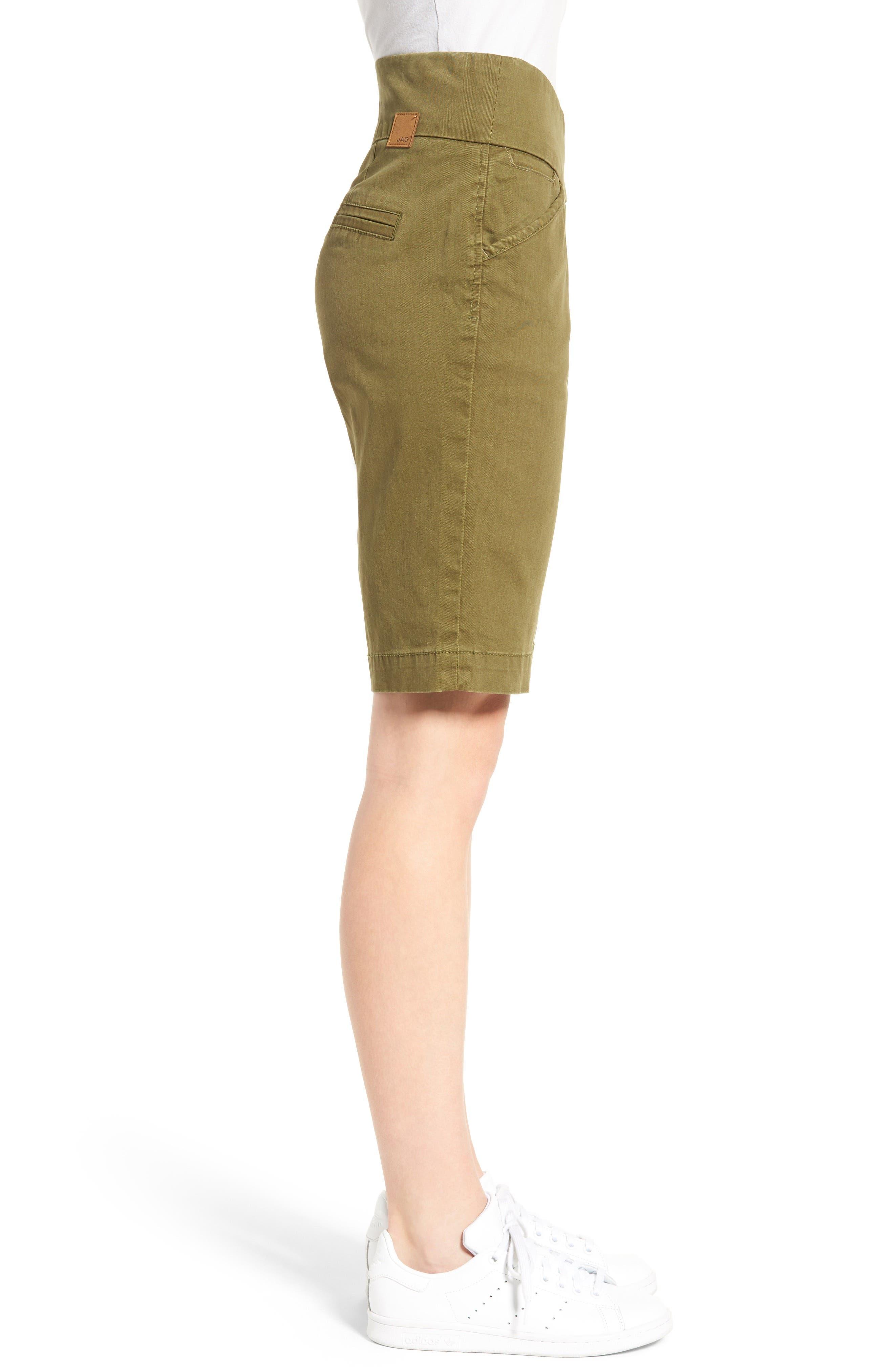 'Ainsley' Slim Bermuda Shorts,                             Alternate thumbnail 26, color,