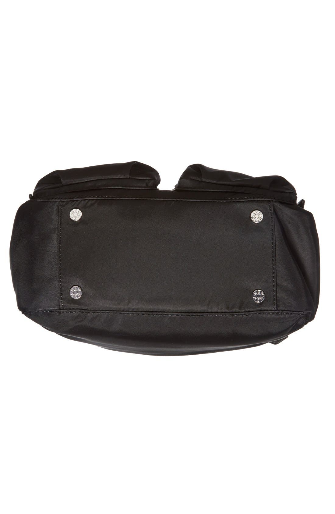 'Small Roxy' Bedford Nylon Shoulder Bag,                             Alternate thumbnail 6, color,                             001