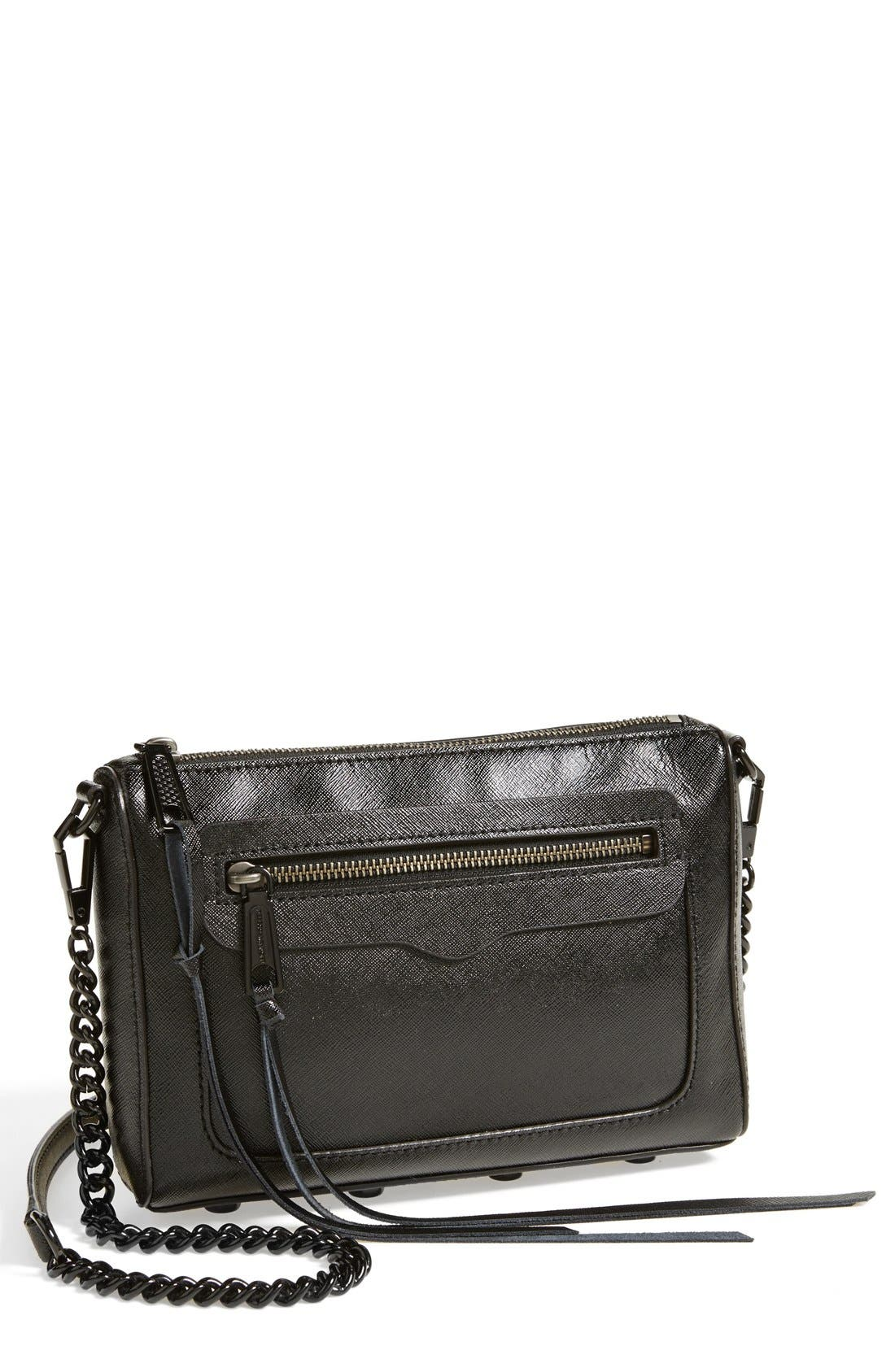 'Avery' Crossbody Bag,                             Main thumbnail 1, color,                             001