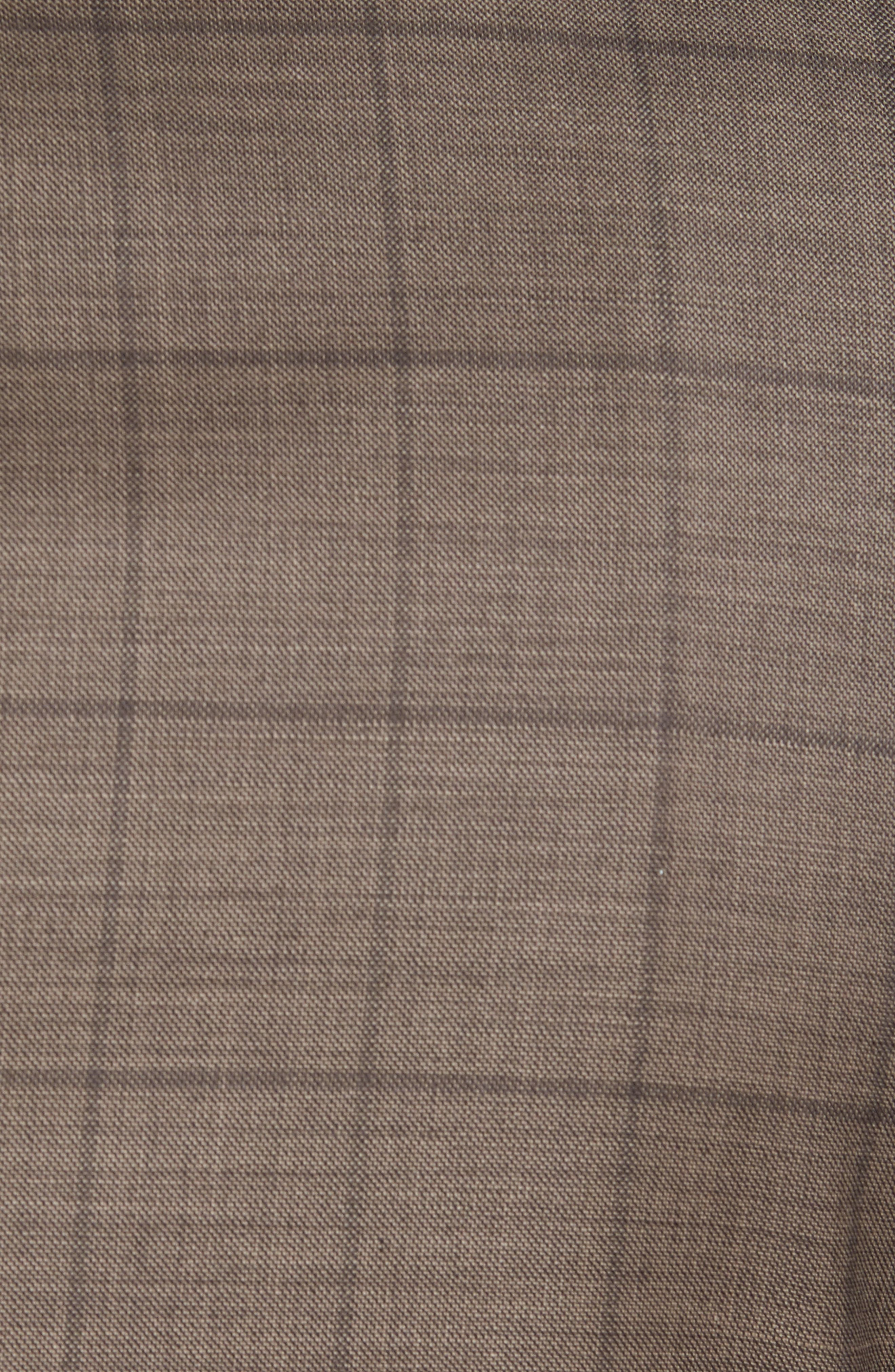 New York Classic Fit Stretch Windowpane Wool Suit,                             Alternate thumbnail 7, color,                             210