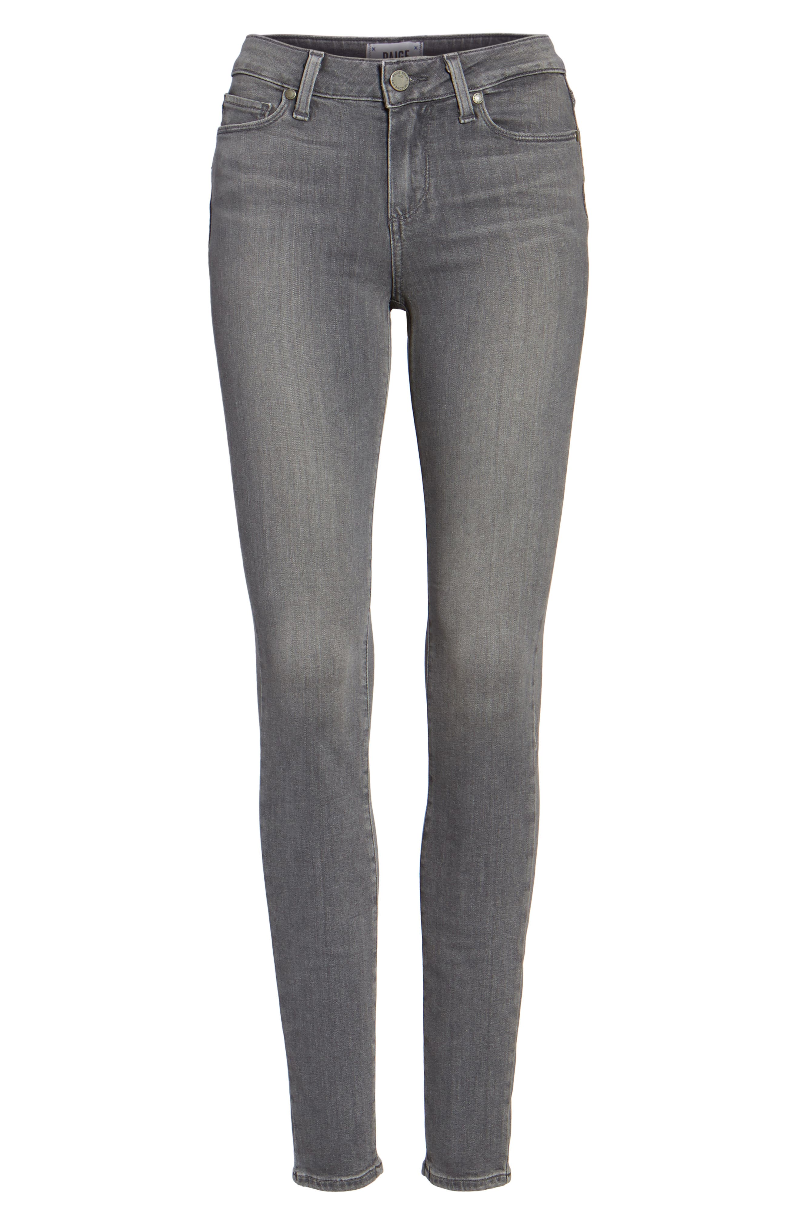 Transcend - Verdugo Ultra Skinny Jeans,                             Main thumbnail 1, color,                             SILVIE