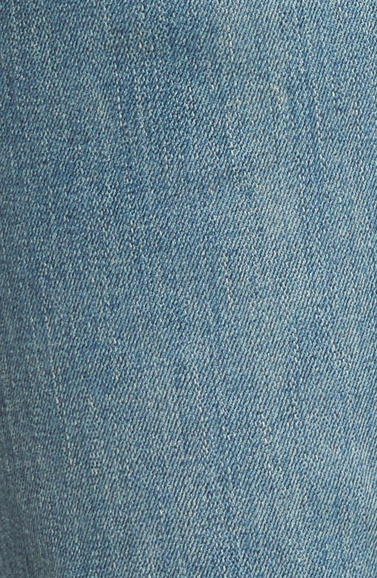 Rocket High Waist Skinny Jeans,                             Alternate thumbnail 6, color,                             465