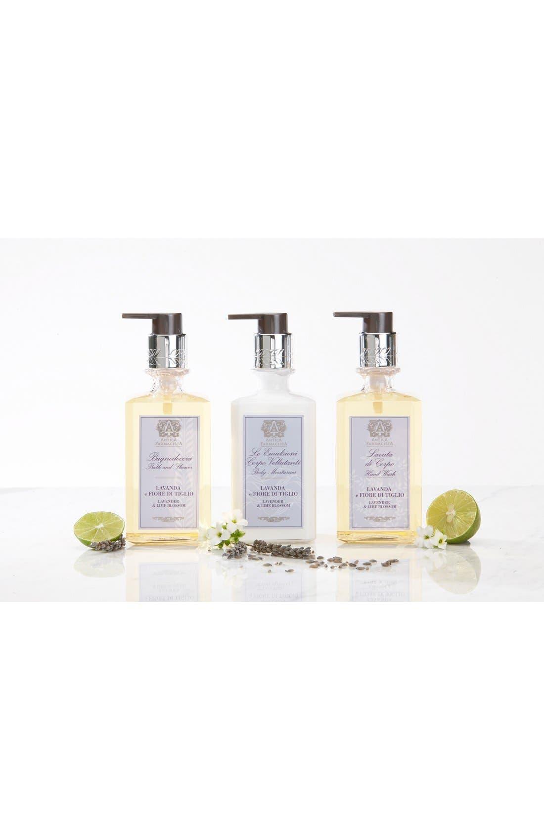 ANTICA FARMACISTA,                             'Lavender & Lime Blossom' Body Moisturizer,                             Alternate thumbnail 2, color,                             NO COLOR