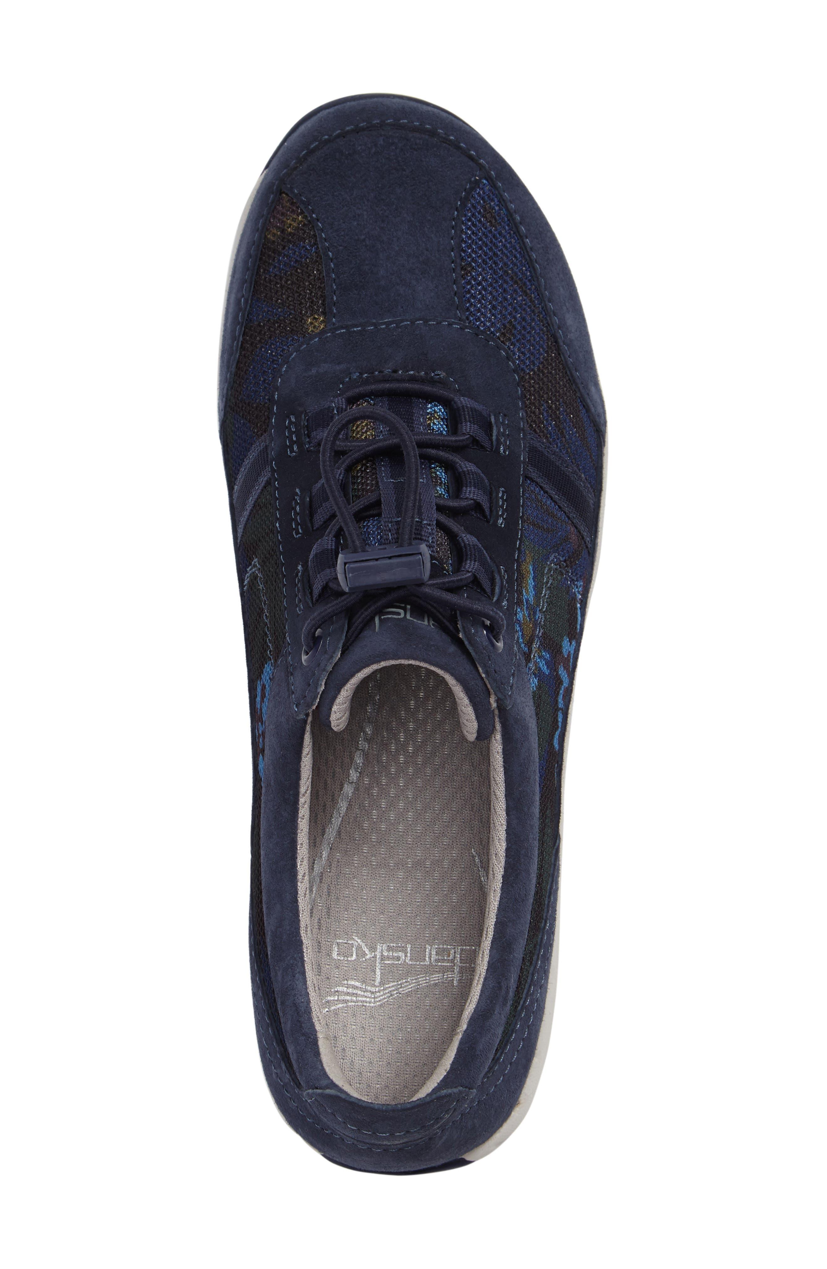 'Helen' Suede & Mesh Sneaker,                             Alternate thumbnail 43, color,