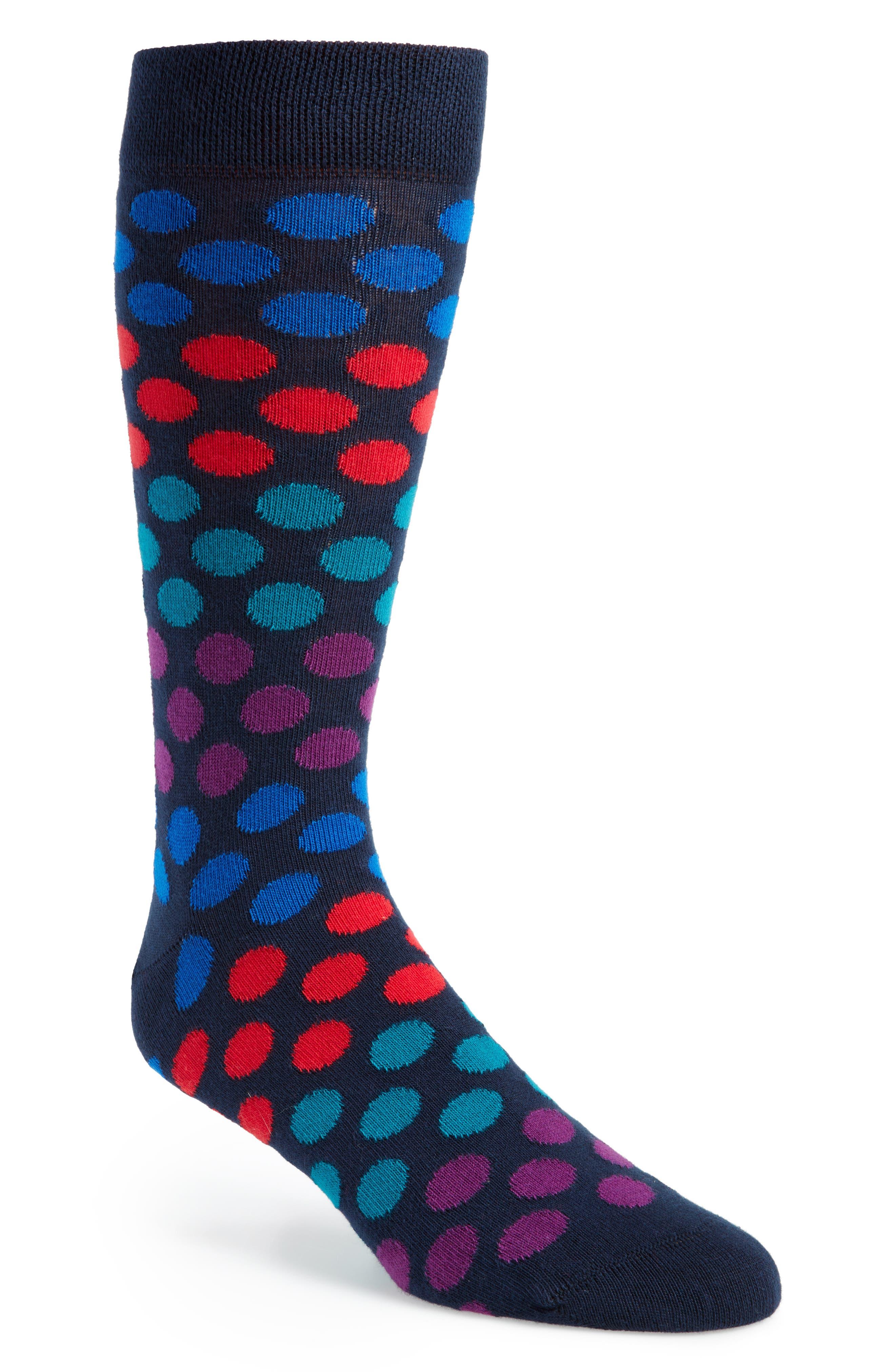 Dot Socks,                         Main,                         color, 410