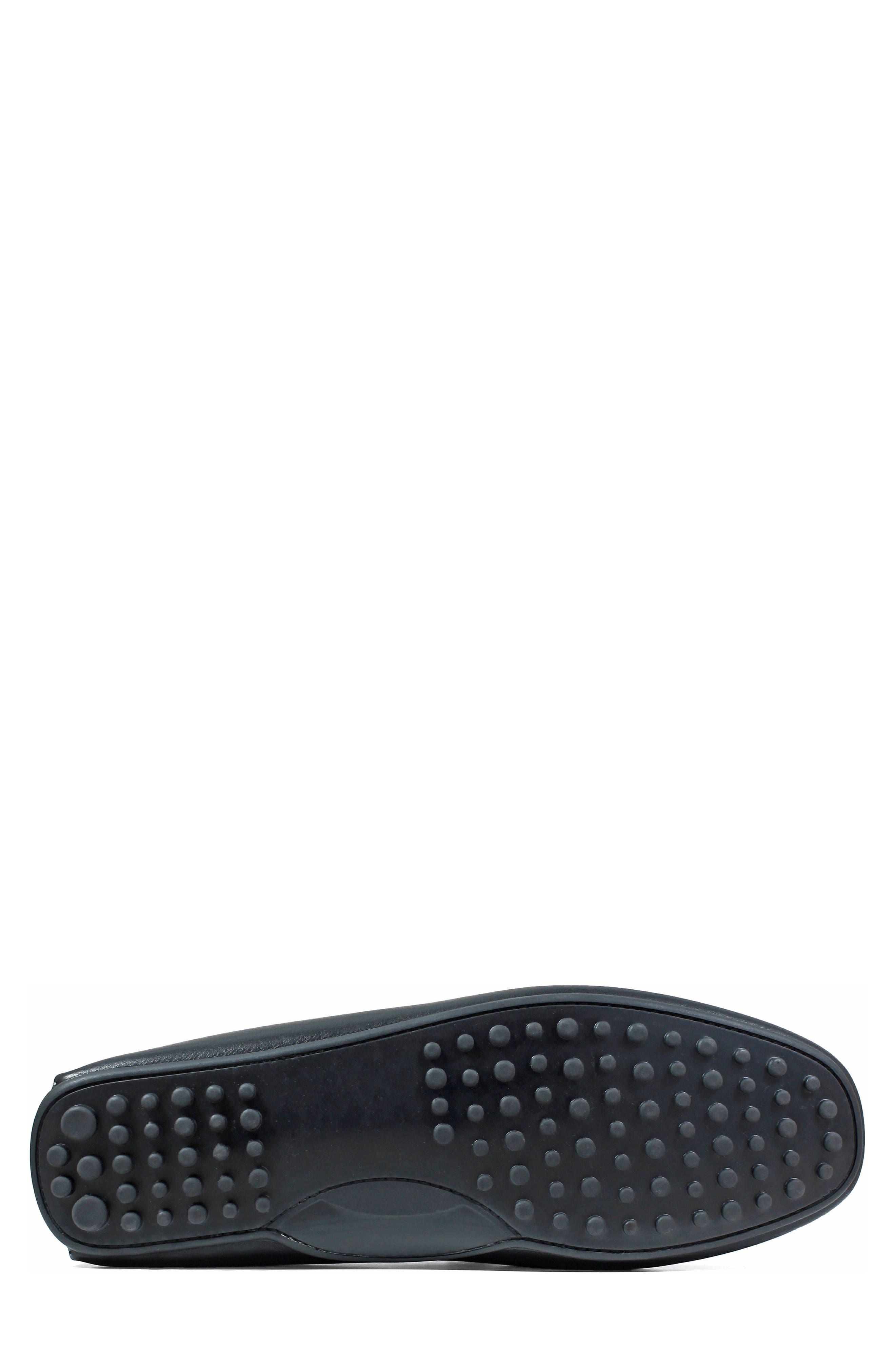 FLORSHEIM,                             Imperial Comet Driving Shoe,                             Alternate thumbnail 6, color,                             BLACK LEATHER