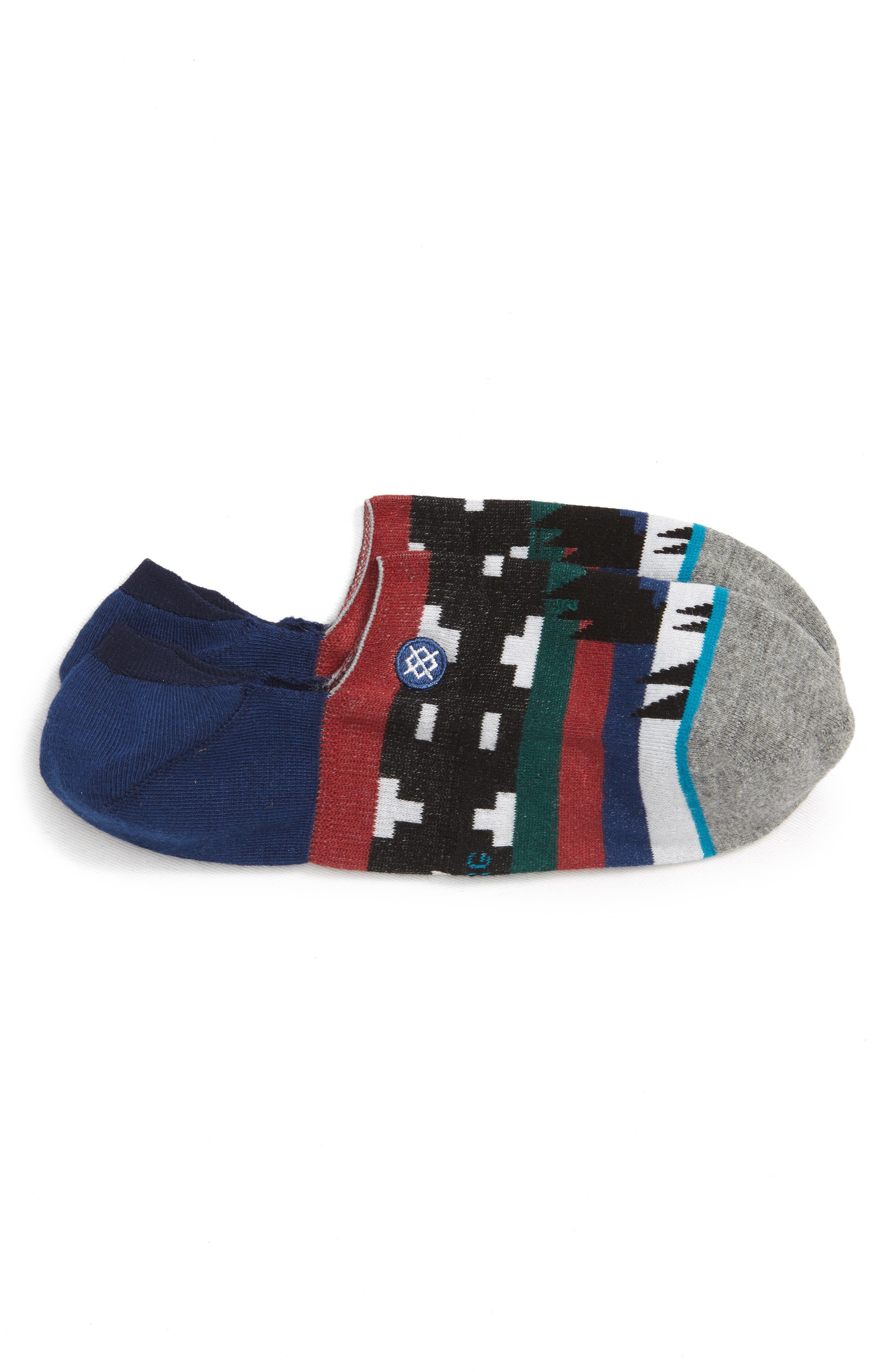 Waziatta Low Socks,                             Main thumbnail 1, color,                             NAVY