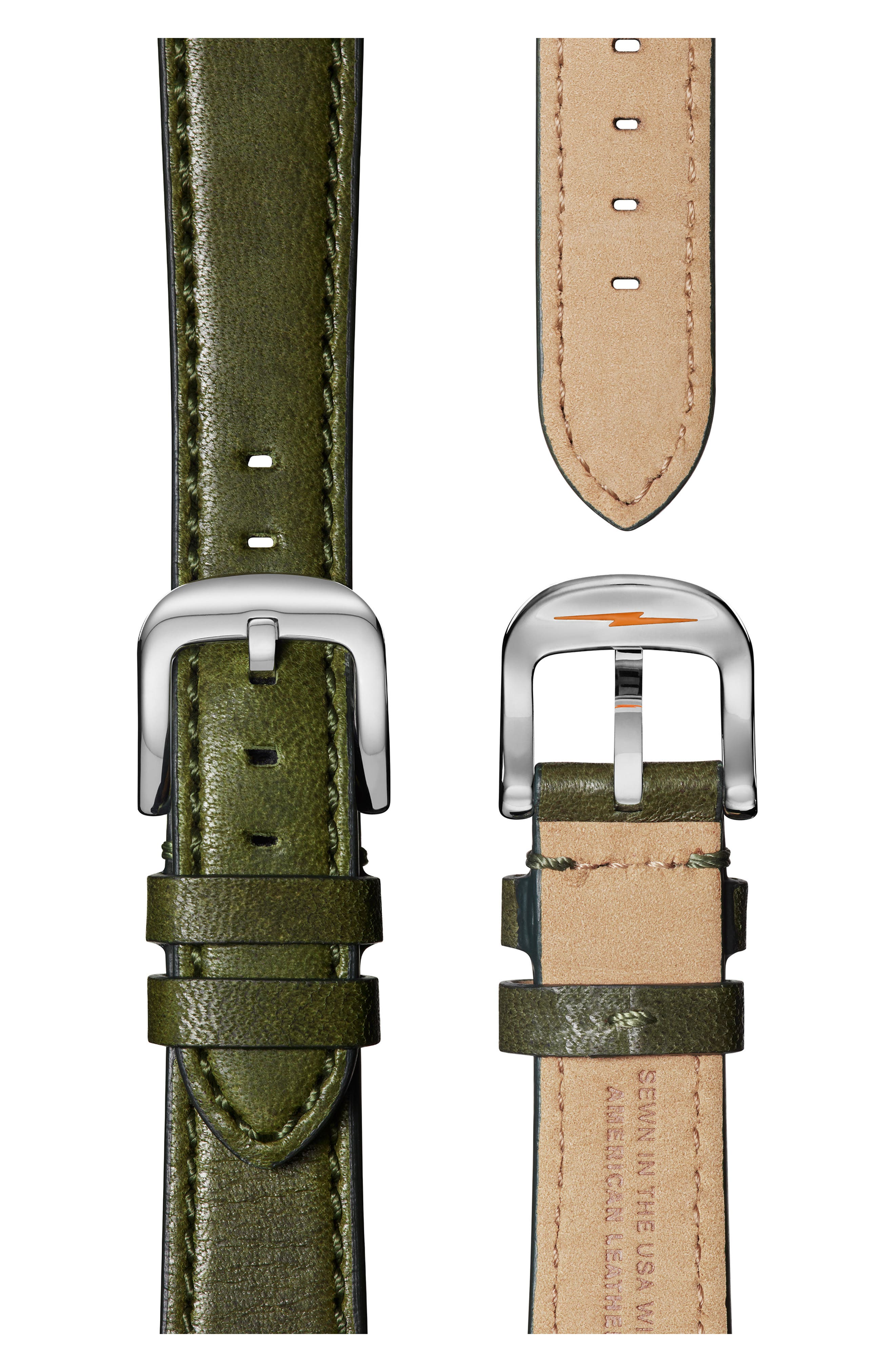 'The Runwell' Leather Strap Watch, 38mm,                             Alternate thumbnail 4, color,                             300