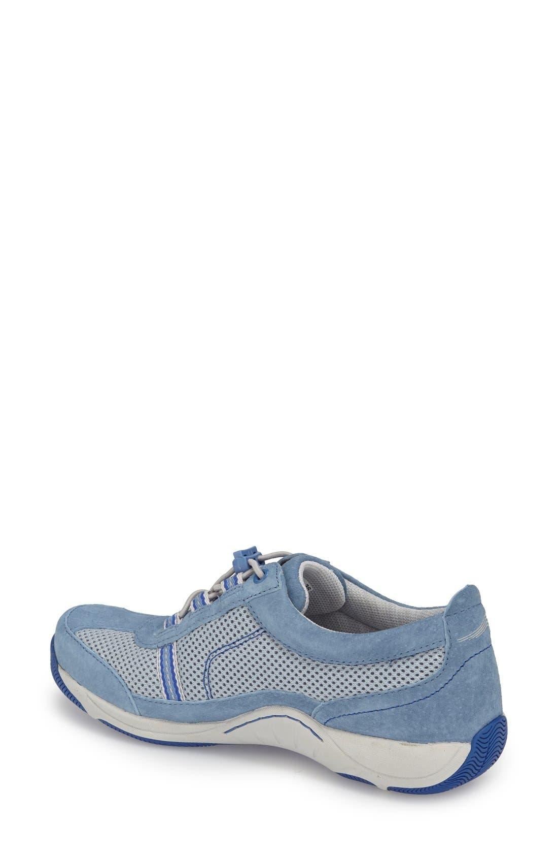 'Helen' Suede & Mesh Sneaker,                             Alternate thumbnail 88, color,