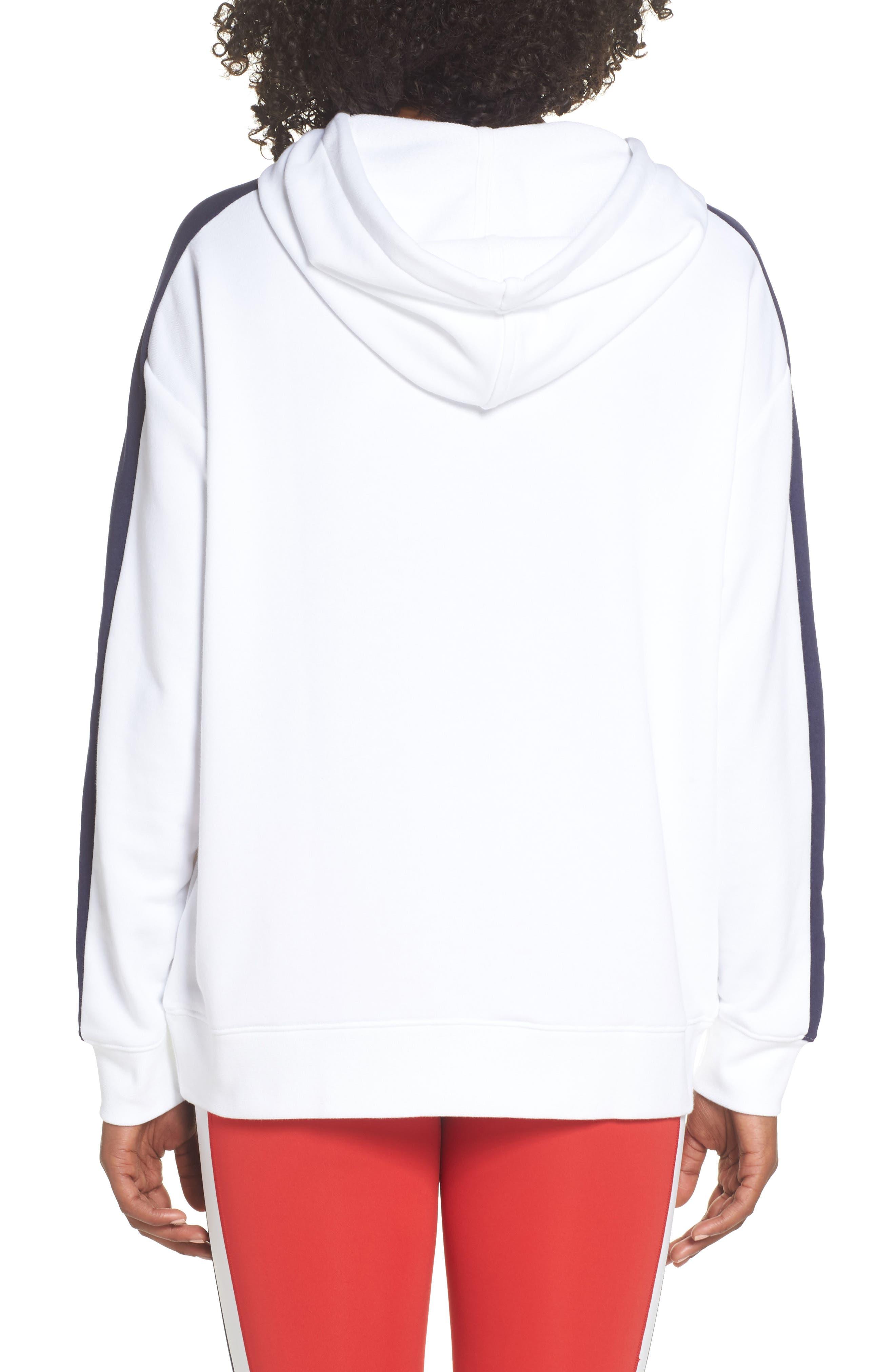 Classics T7 Logo Hoodie Sweatshirt,                             Alternate thumbnail 2, color,                             100