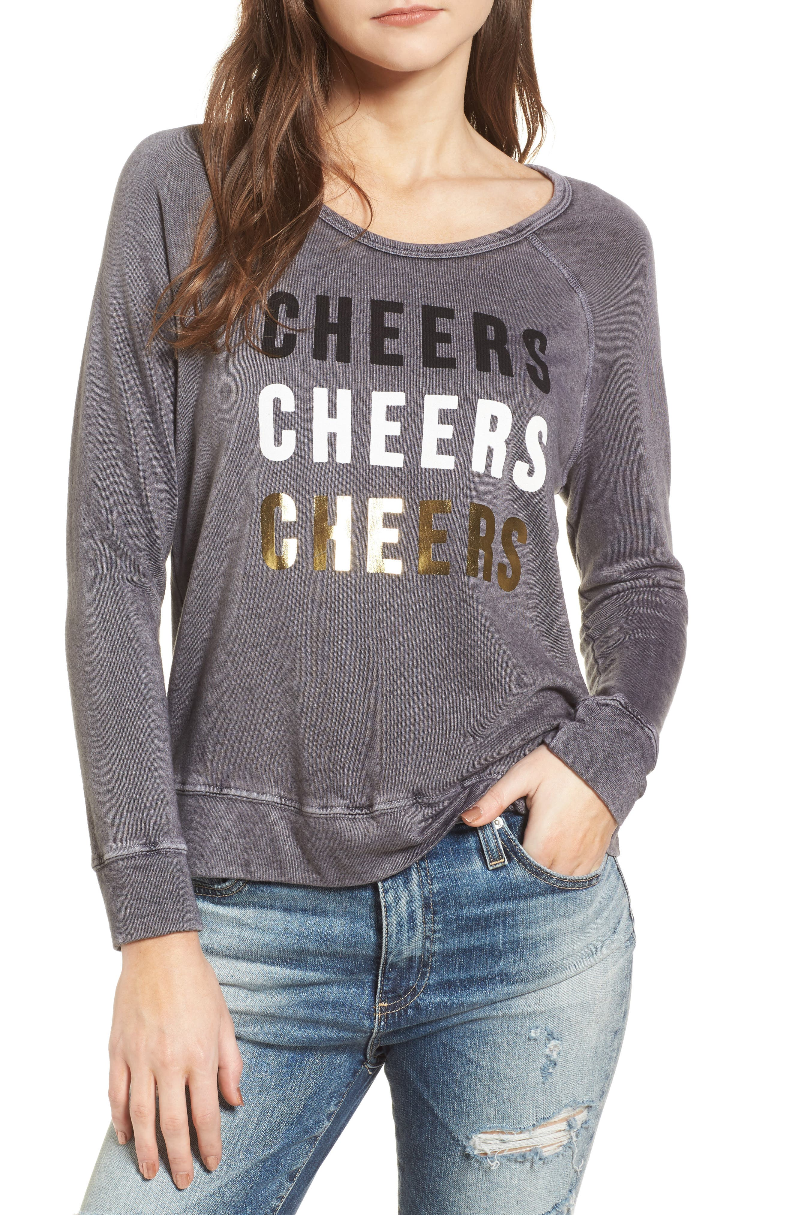 Cheers Sweatshirt,                         Main,                         color, 021