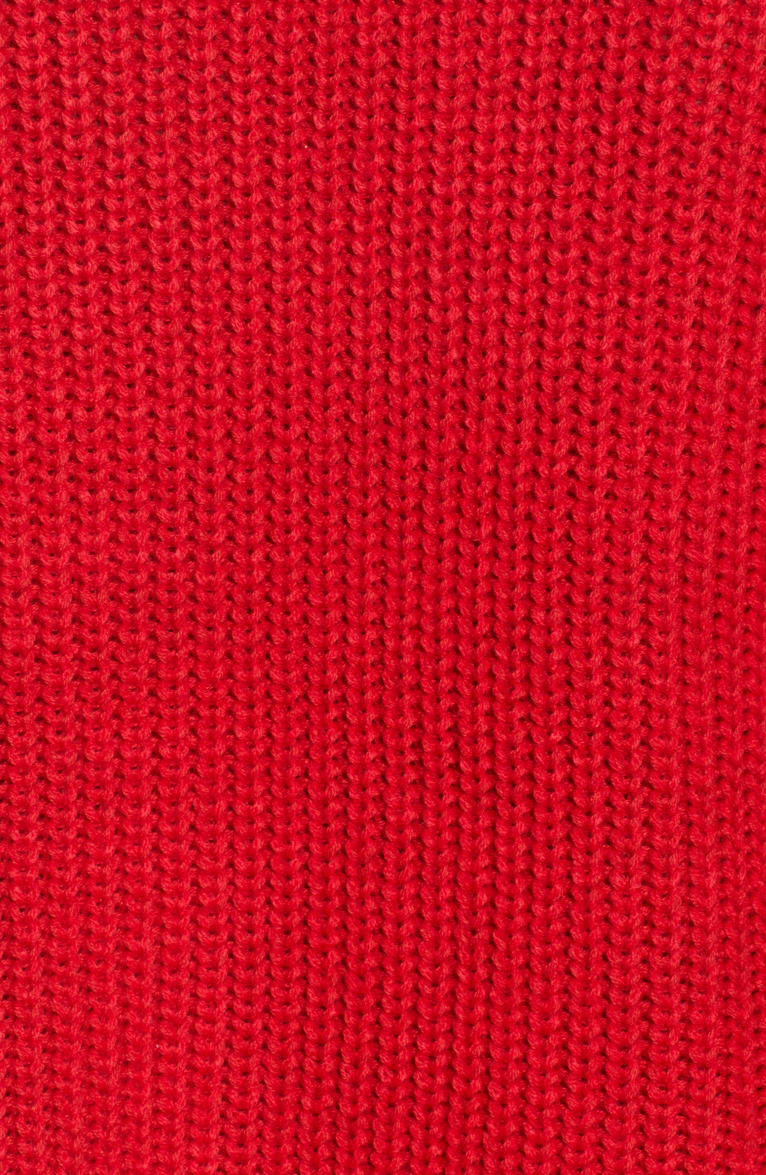 Colorblock Mock Turtleneck,                             Alternate thumbnail 5, color,                             001