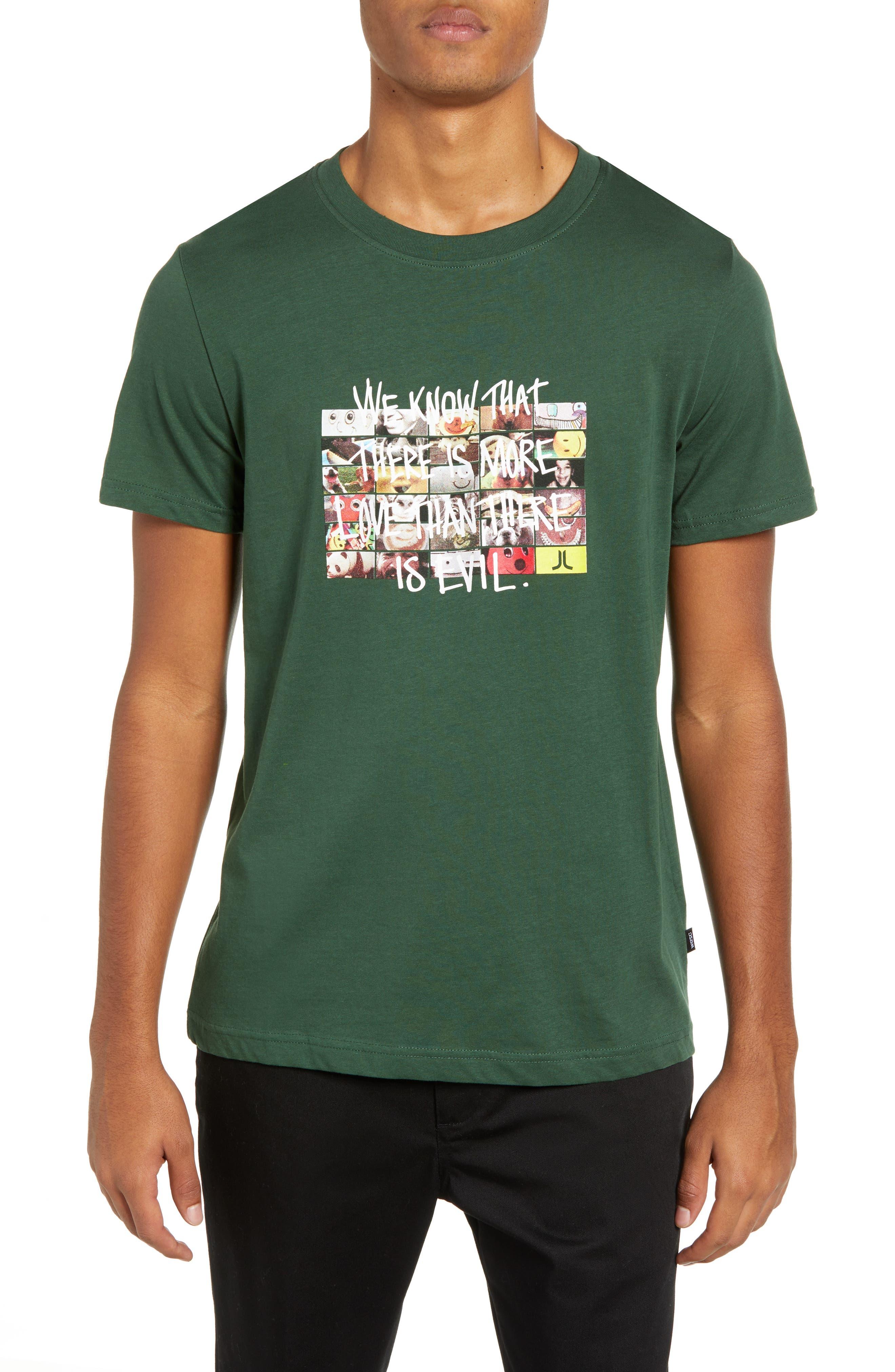Max More Love Graphic T-Shirt,                             Main thumbnail 1, color,                             SYCAMORE