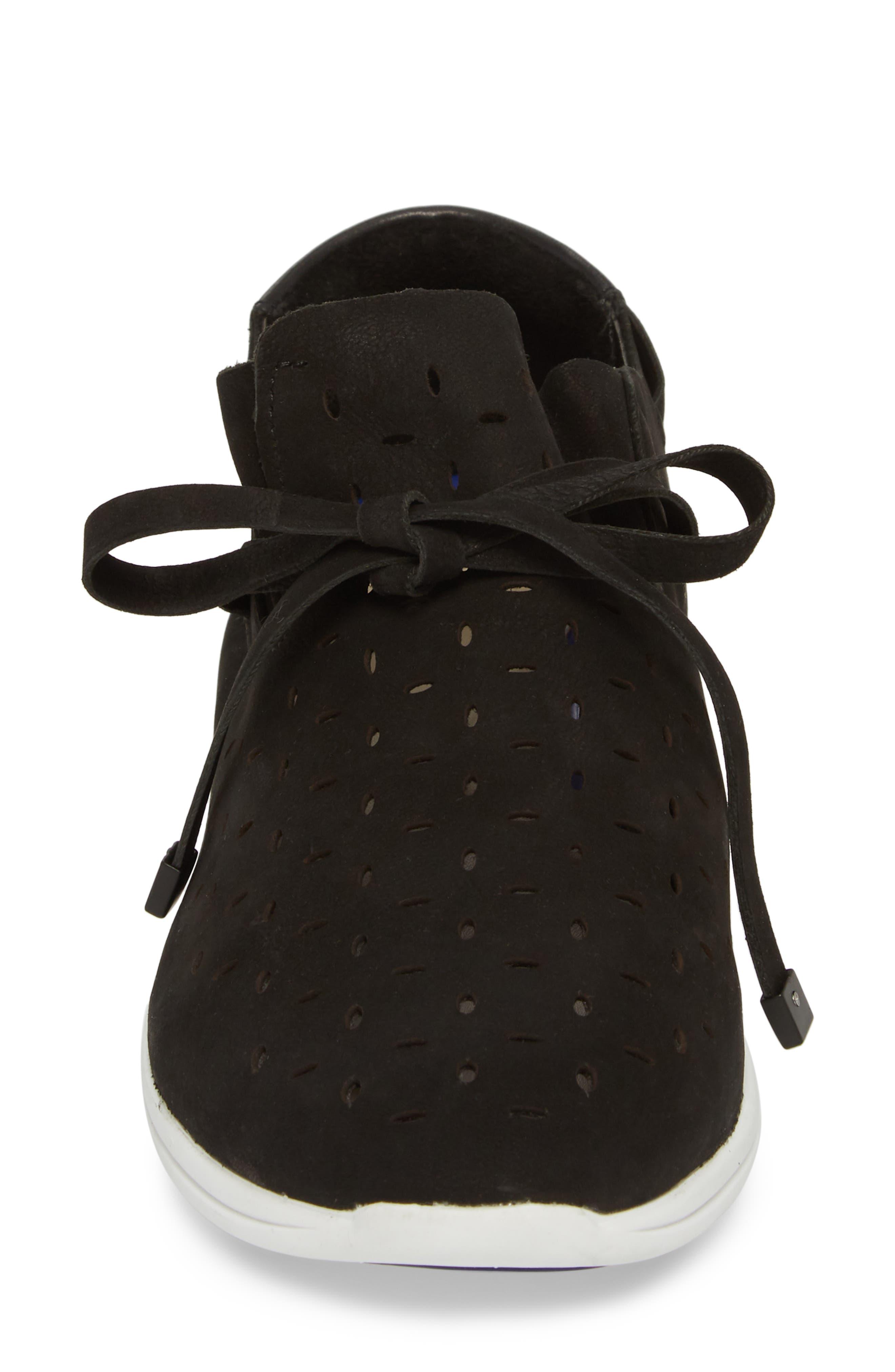 Freeport Sneaker,                             Alternate thumbnail 4, color,                             BLACK NUBUCK