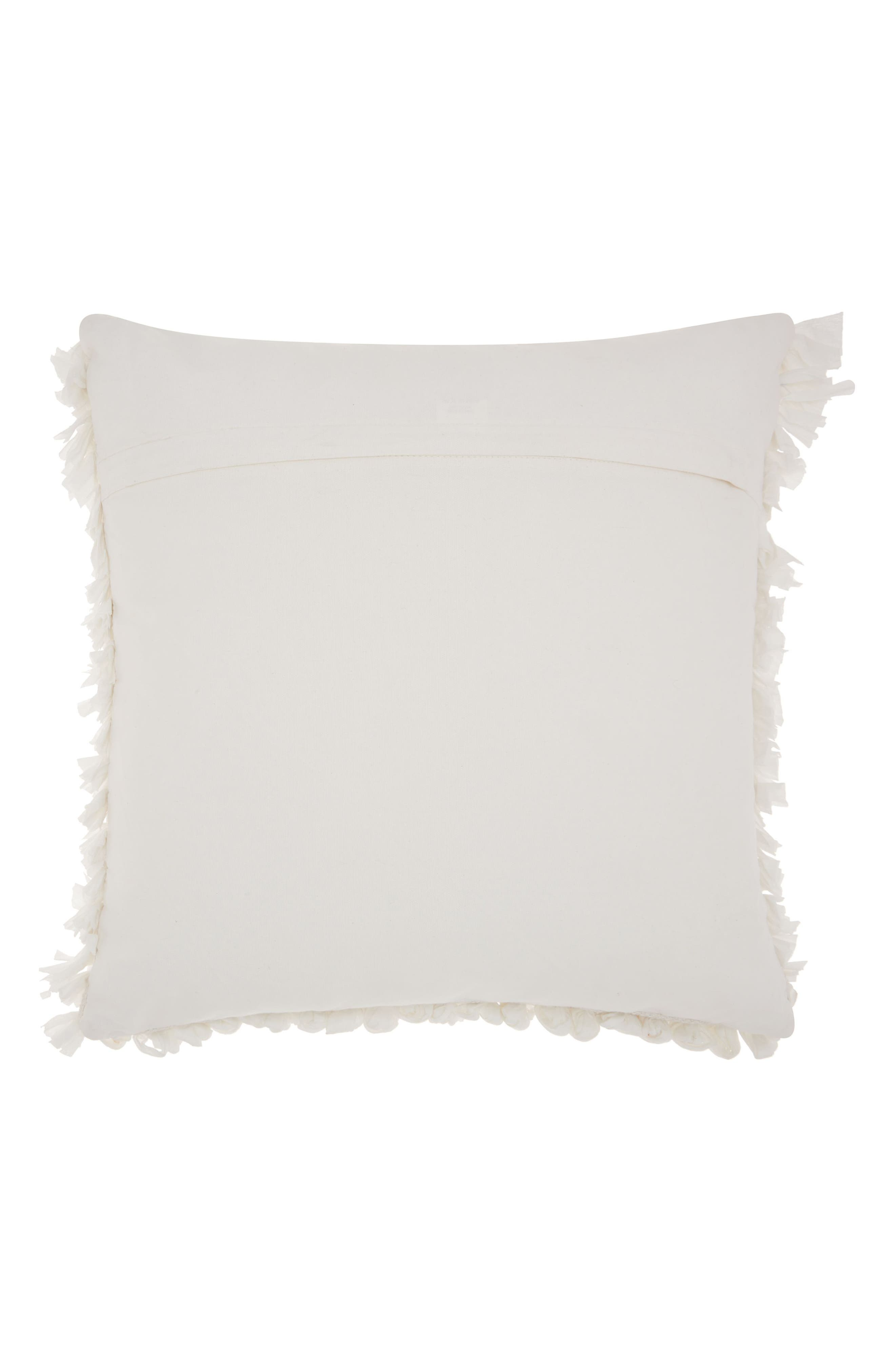 Cut 'n Loop Accent Pillow,                             Alternate thumbnail 2, color,                             100