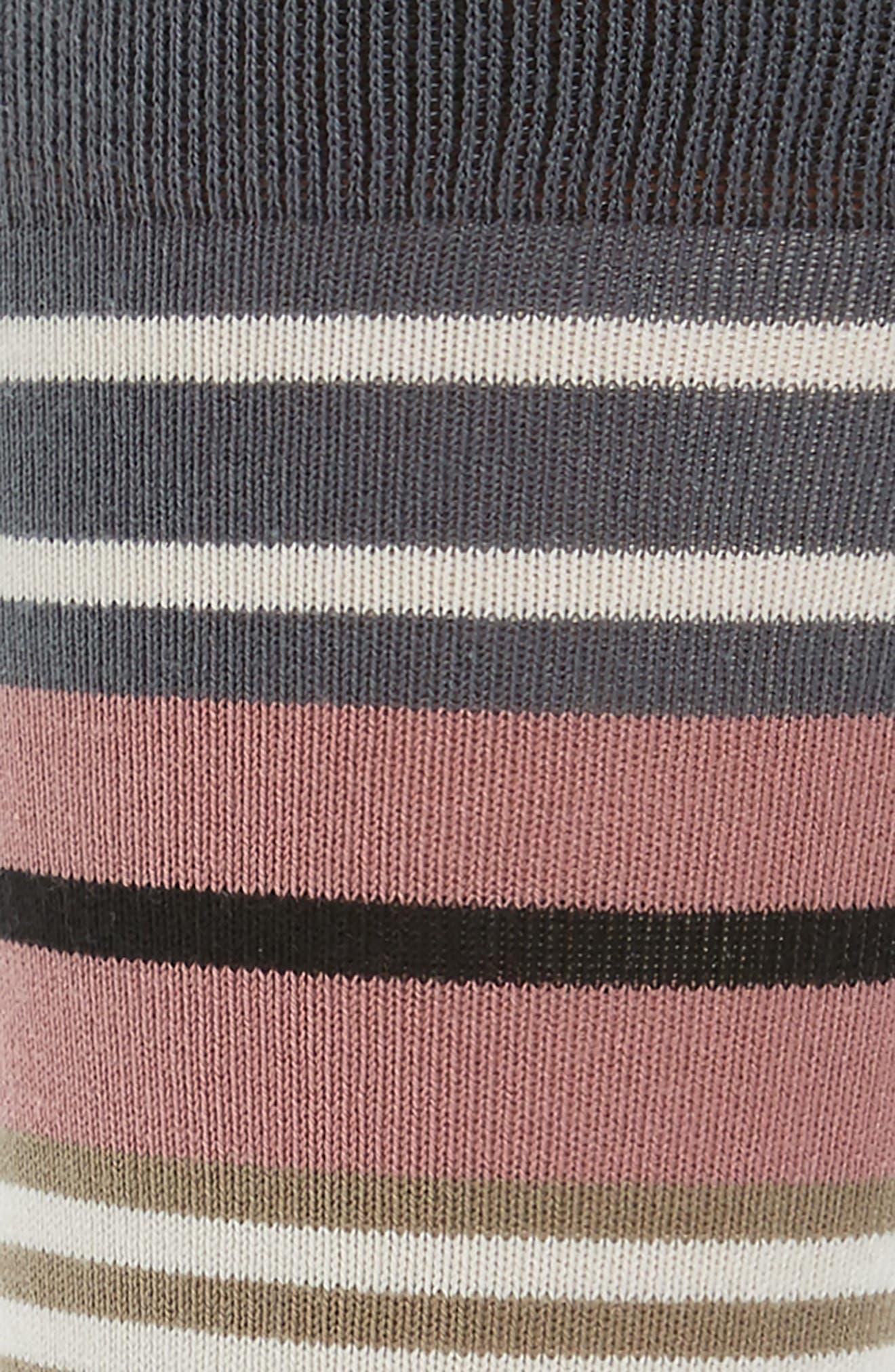 Fennel Stripe Socks,                             Alternate thumbnail 2, color,                             376