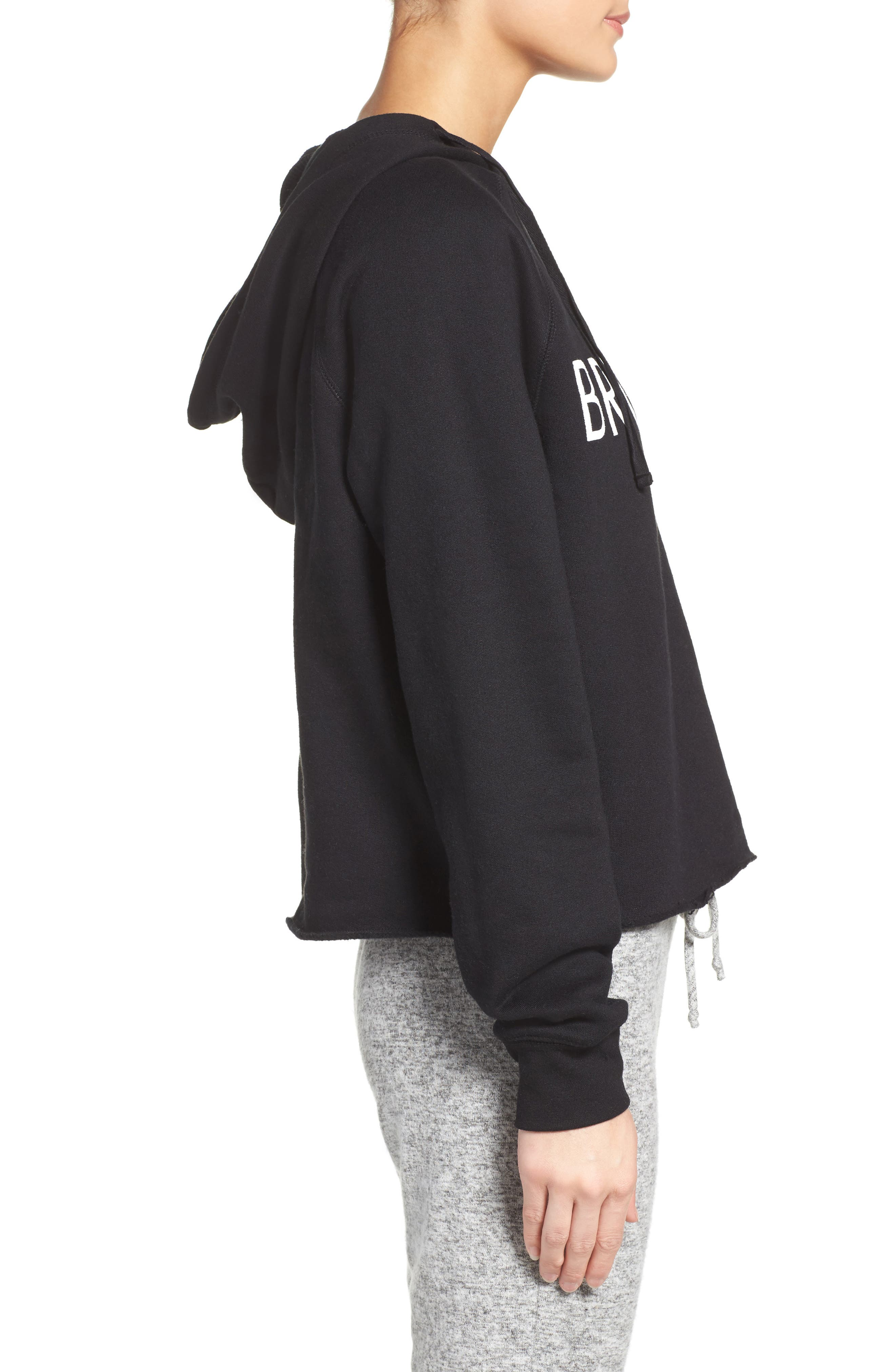 Brunette Lounge Hoodie,                             Alternate thumbnail 3, color,                             001