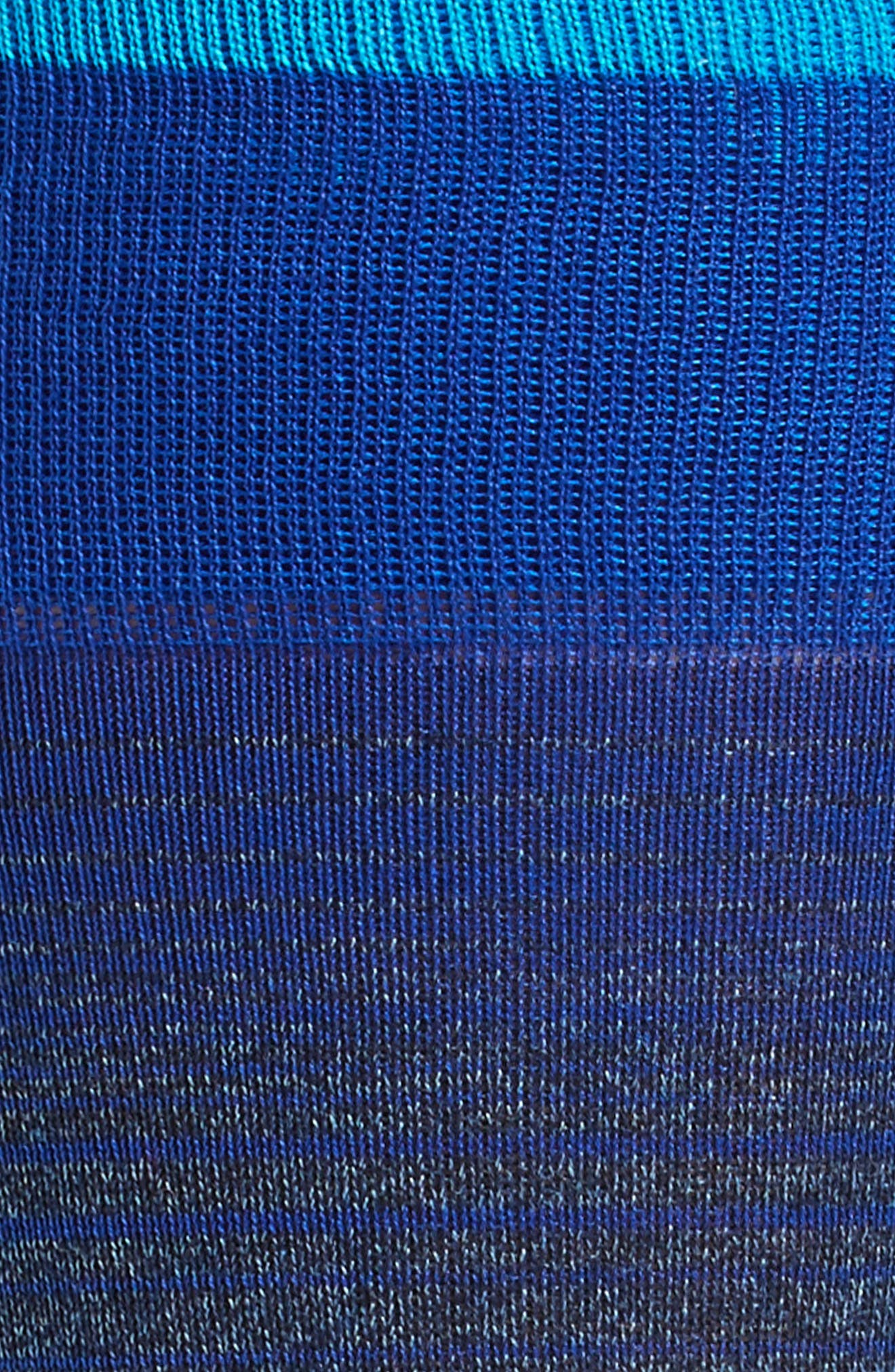 Ombré Stripes Crew Socks,                             Alternate thumbnail 6, color,
