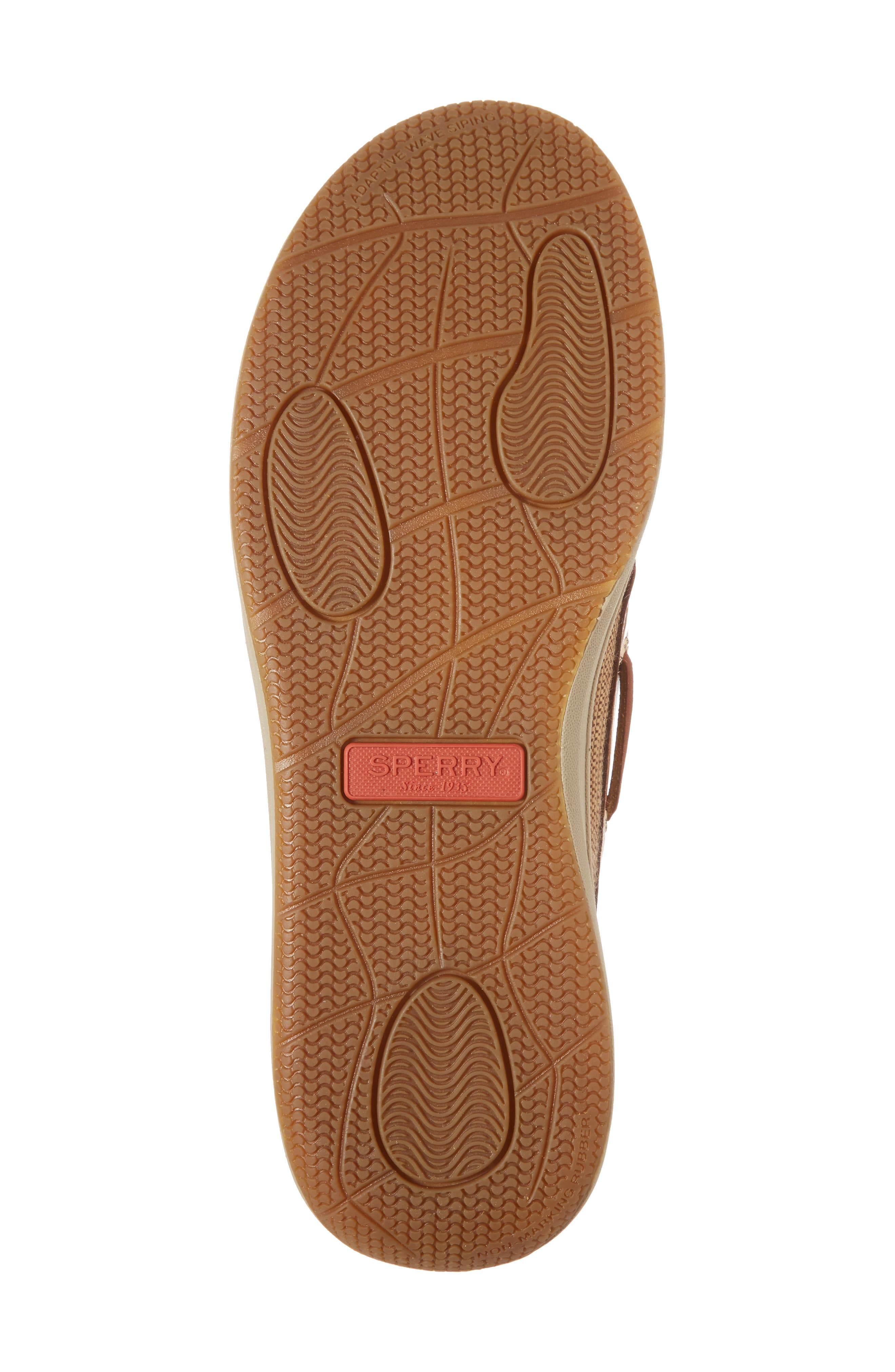 Gold Cup Gamefish Boat Shoe,                             Alternate thumbnail 6, color,                             BROWN LEATHER
