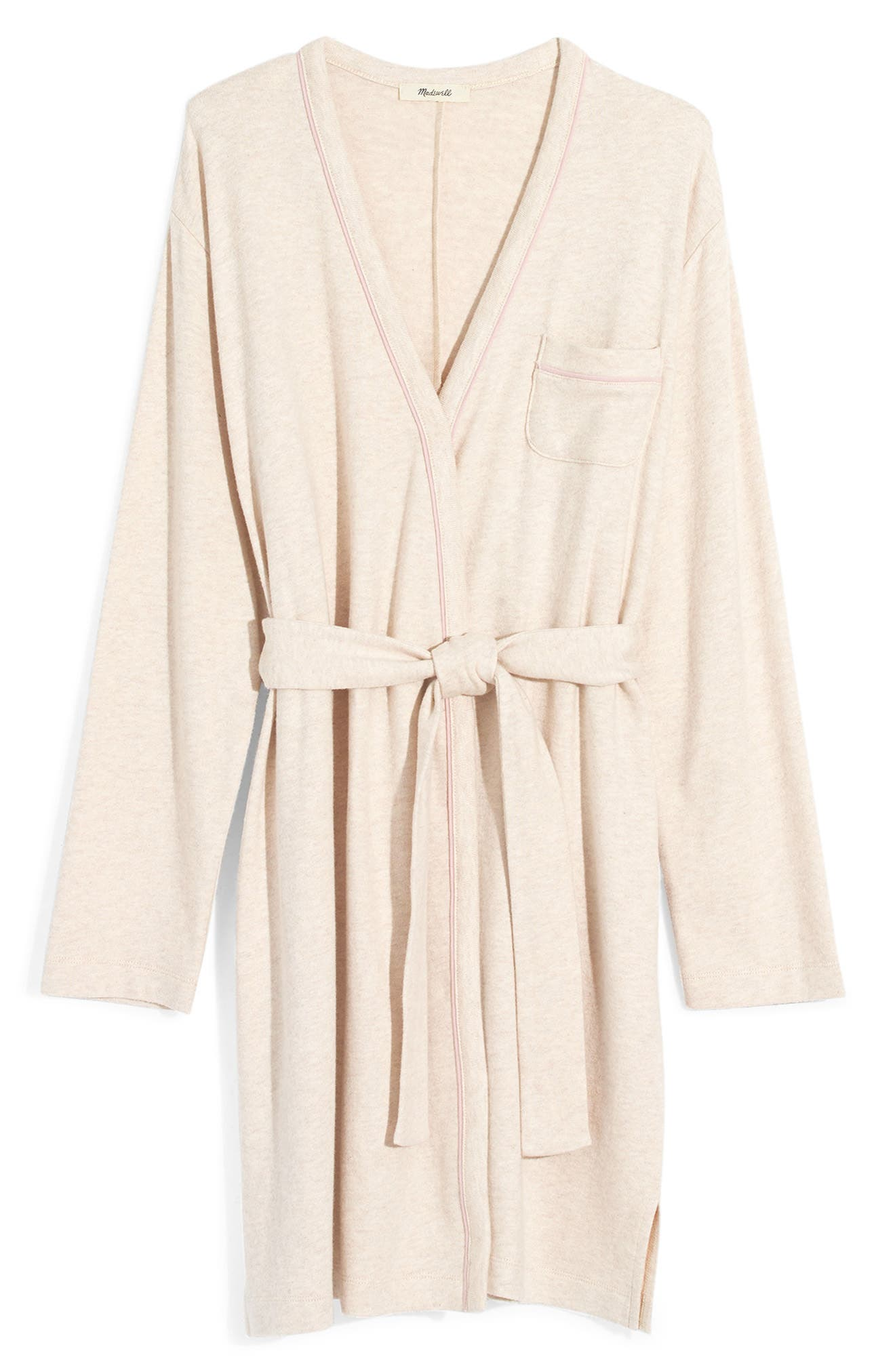 Tipped Robe, Main, color, HEATHER MARBLE