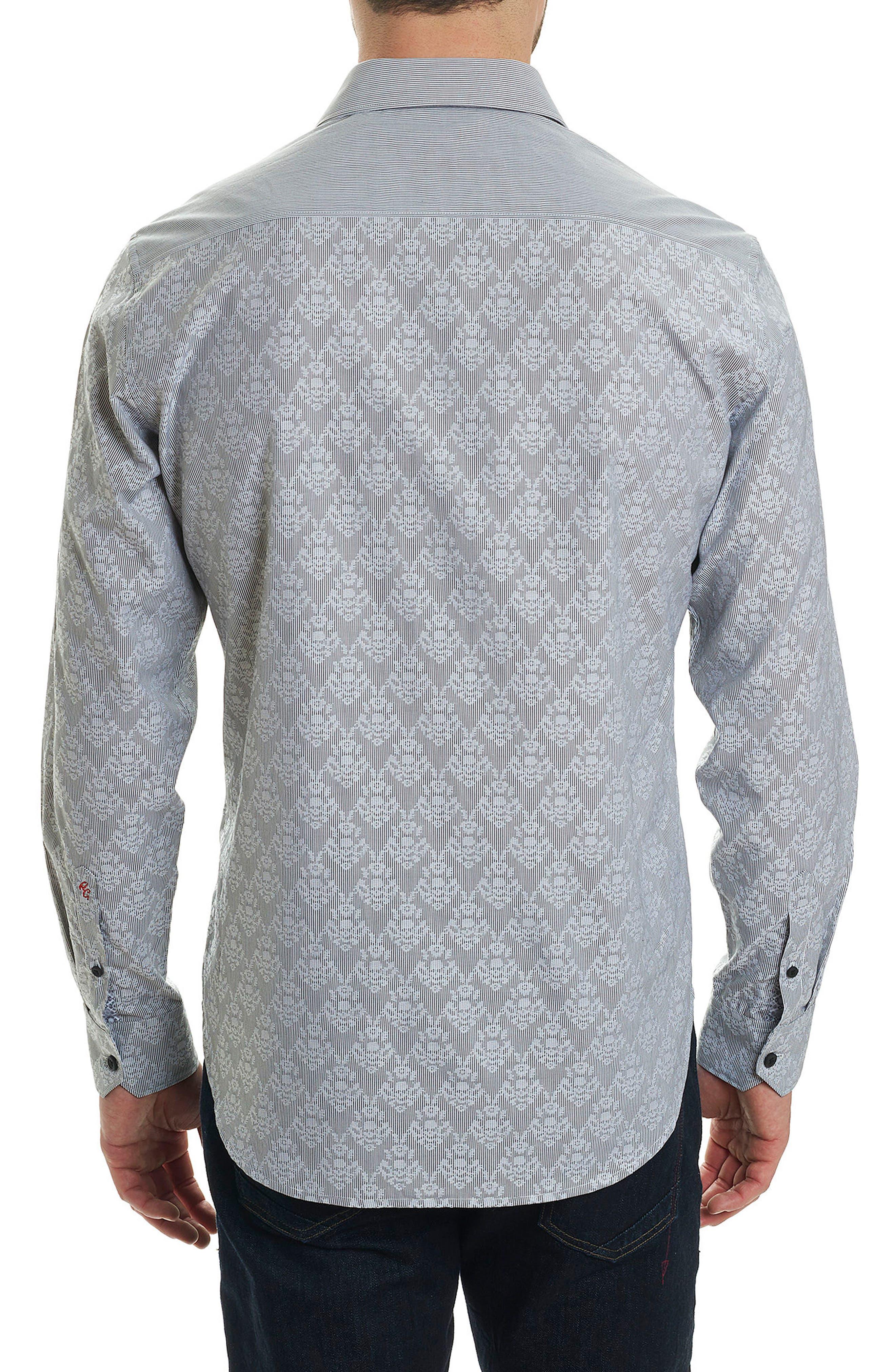 ROBERT GRAHAM,                             Dynamo Regular Fit Sport Shirt,                             Alternate thumbnail 2, color,                             063