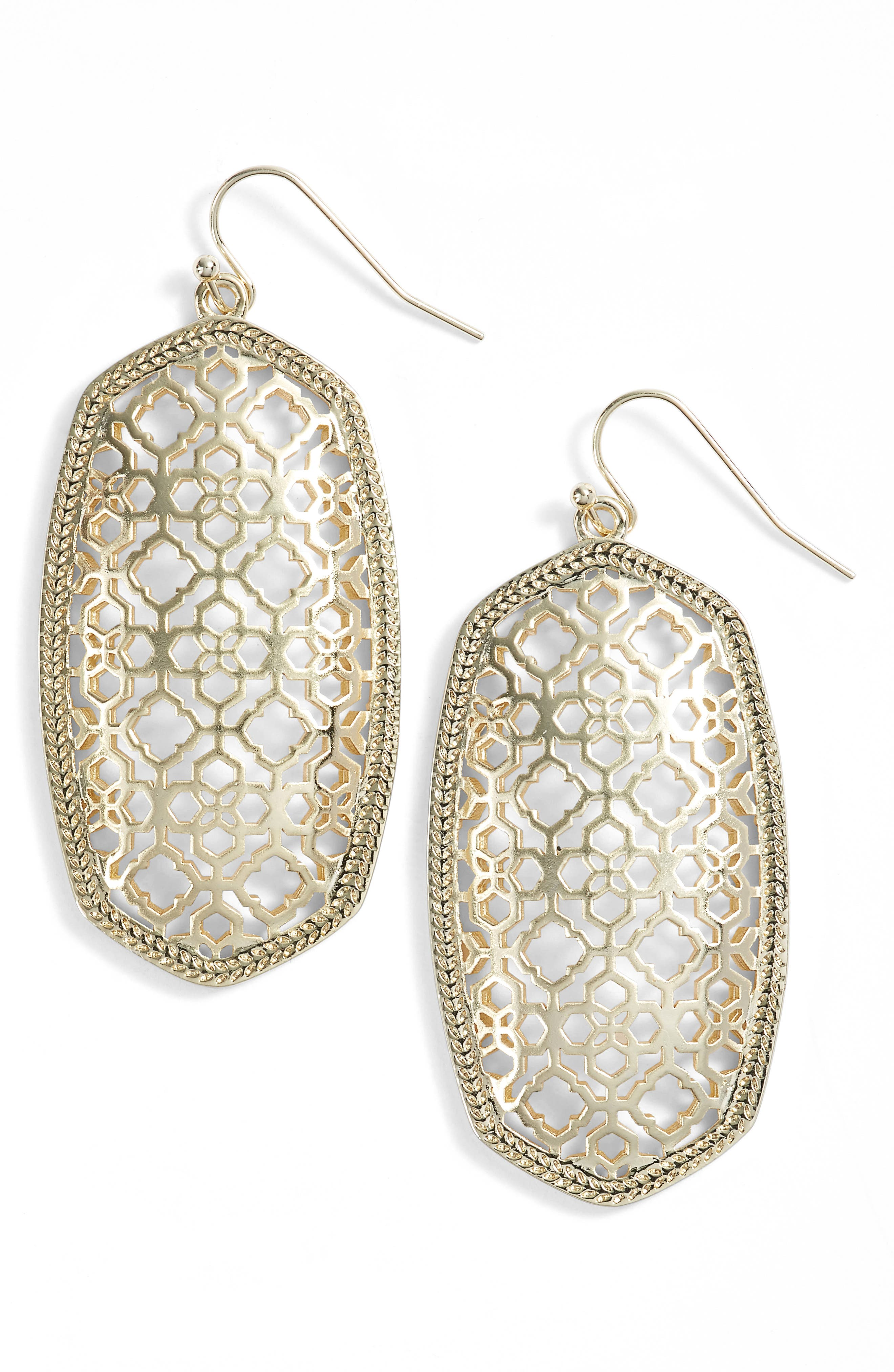 Danielle - Large Oval Statement Earrings,                             Main thumbnail 85, color,