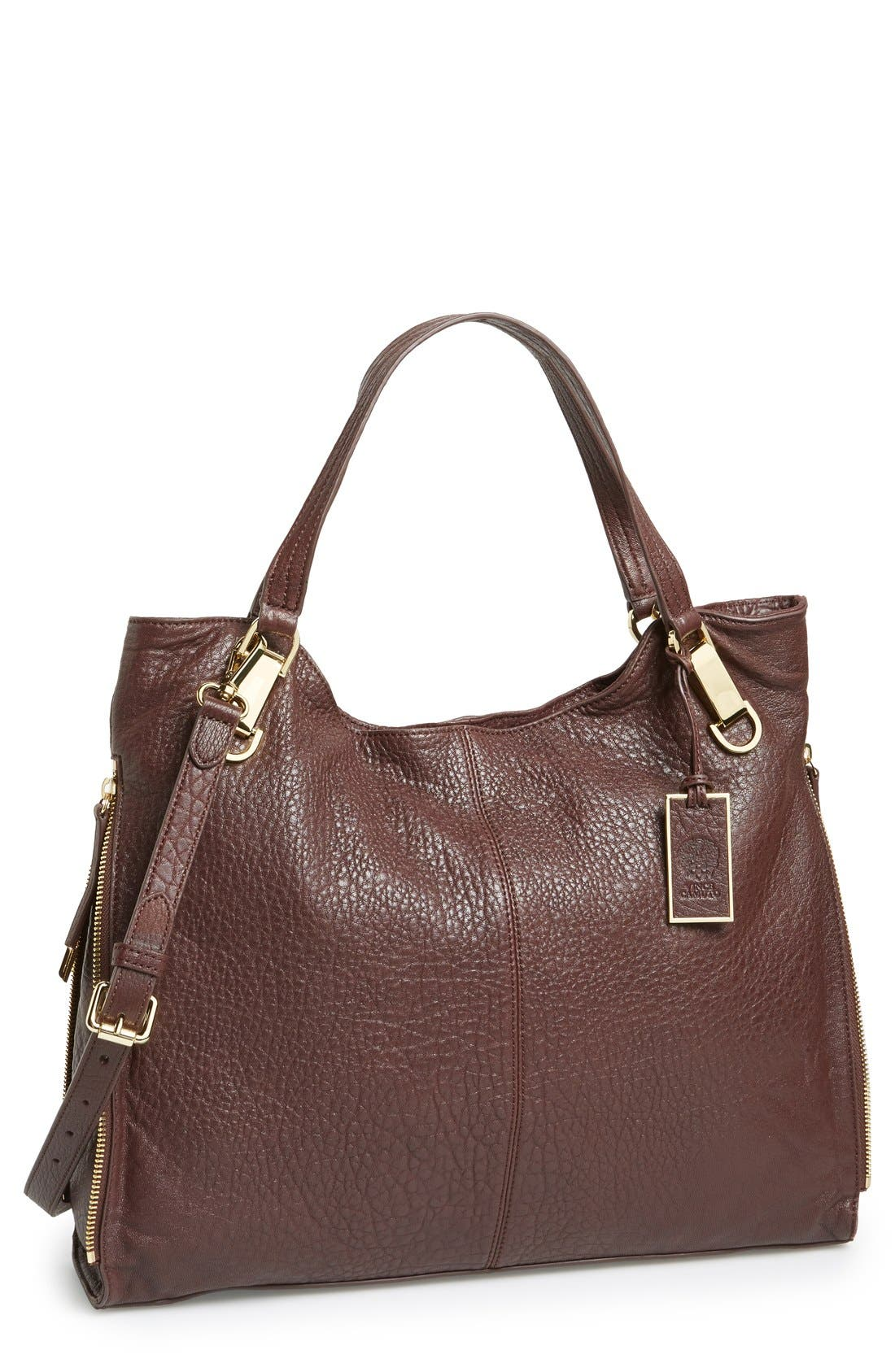 'Riley' Leather Tote,                             Main thumbnail 11, color,