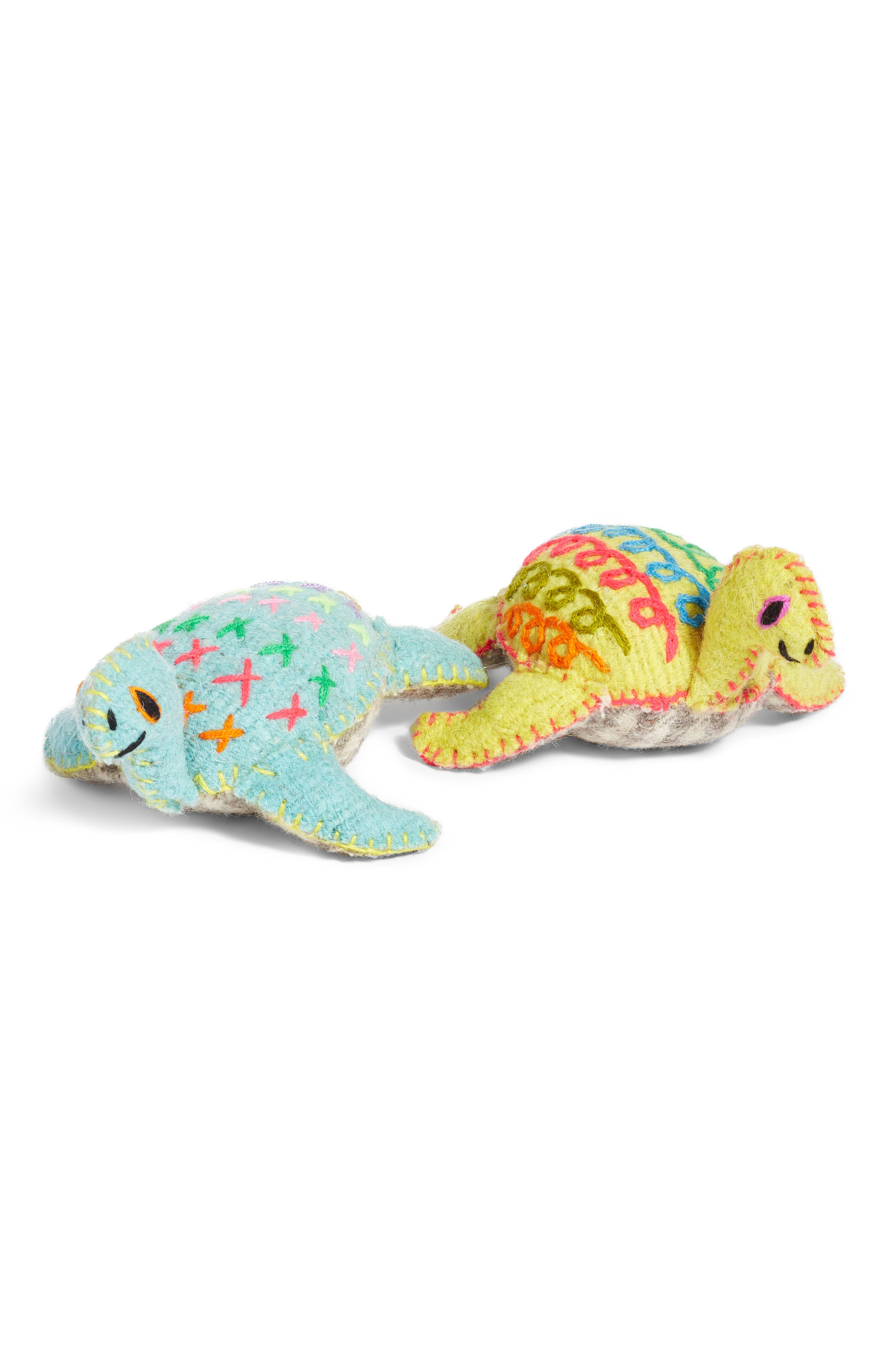 Sea Turtle Stuffed Animal,                             Alternate thumbnail 3, color,                             960