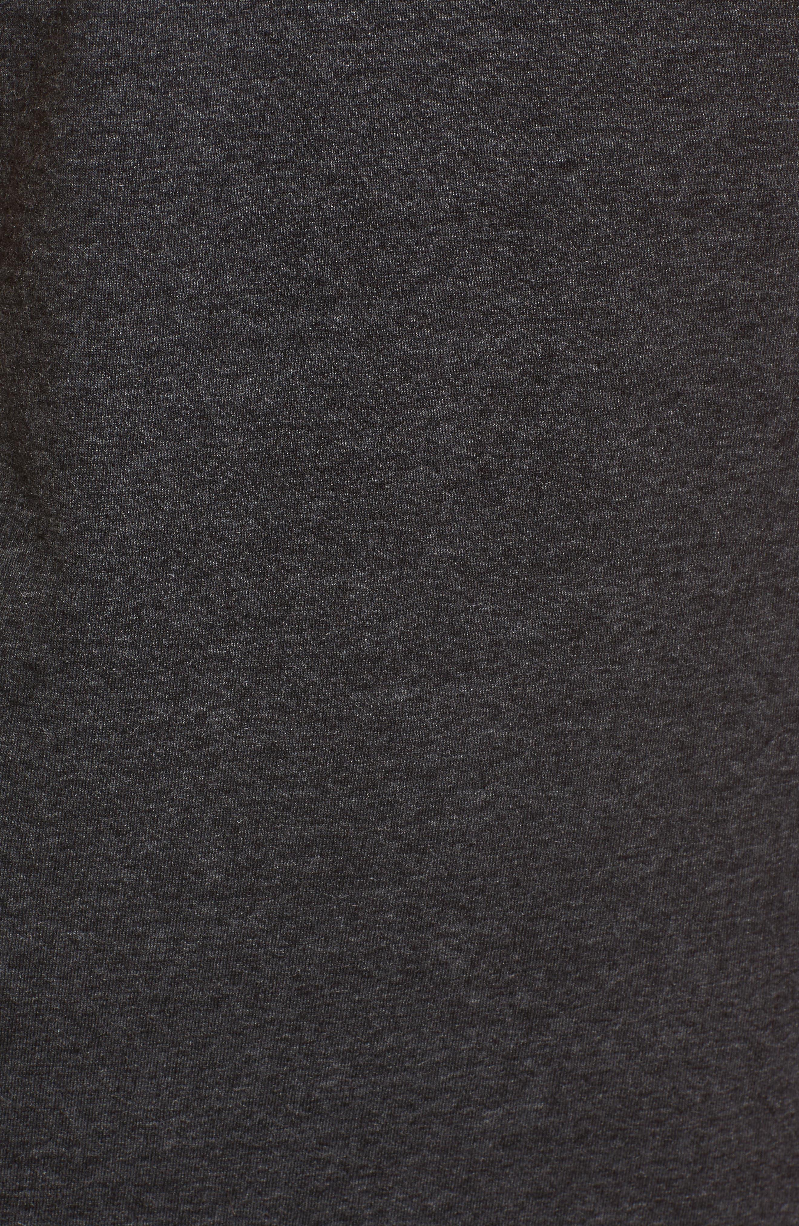 Knee Length T-Shirt Dress,                             Alternate thumbnail 5, color,                             034