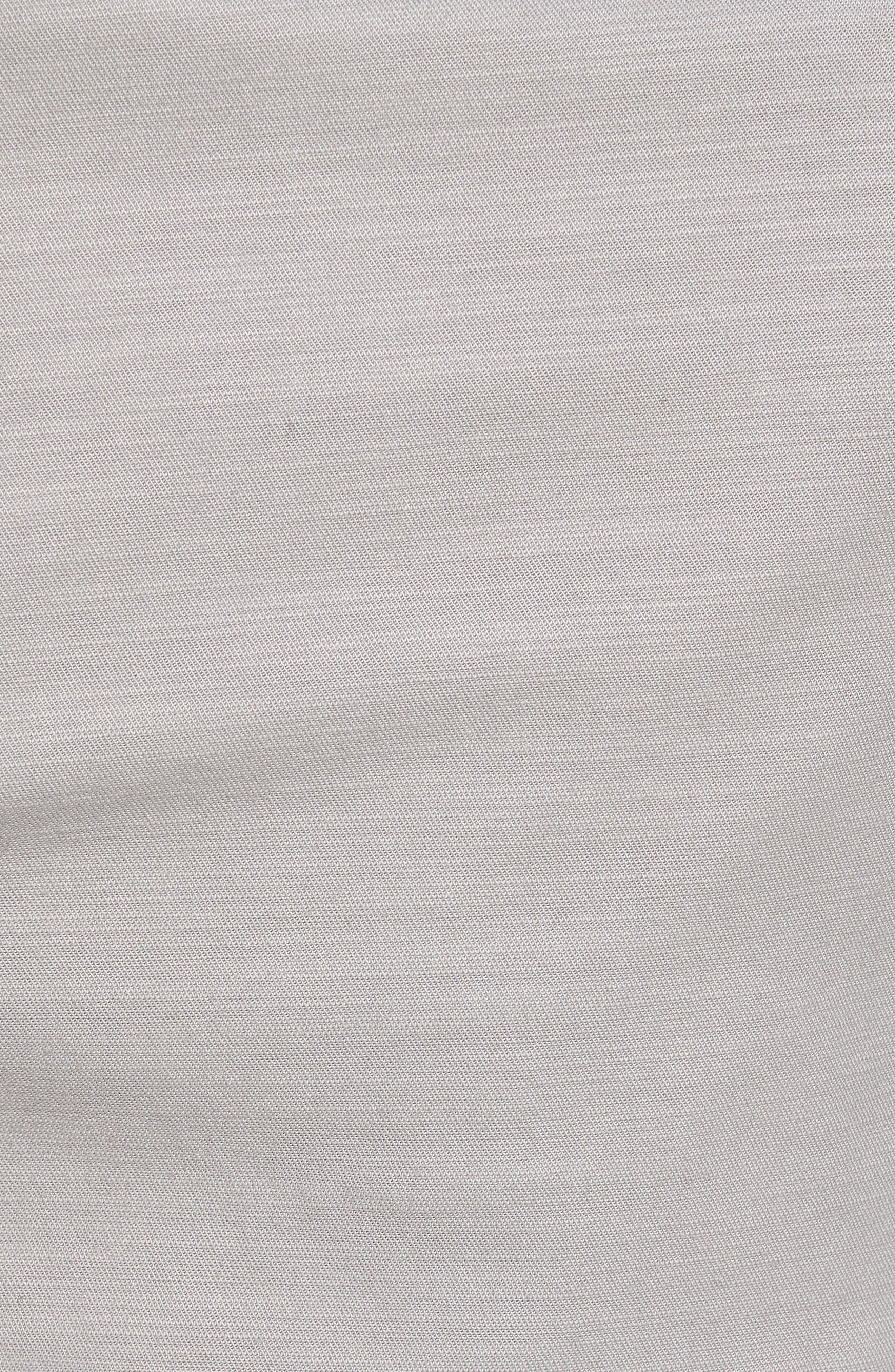 Jay Stretch Chino Shorts,                             Alternate thumbnail 5, color,                             LIGHT GREY