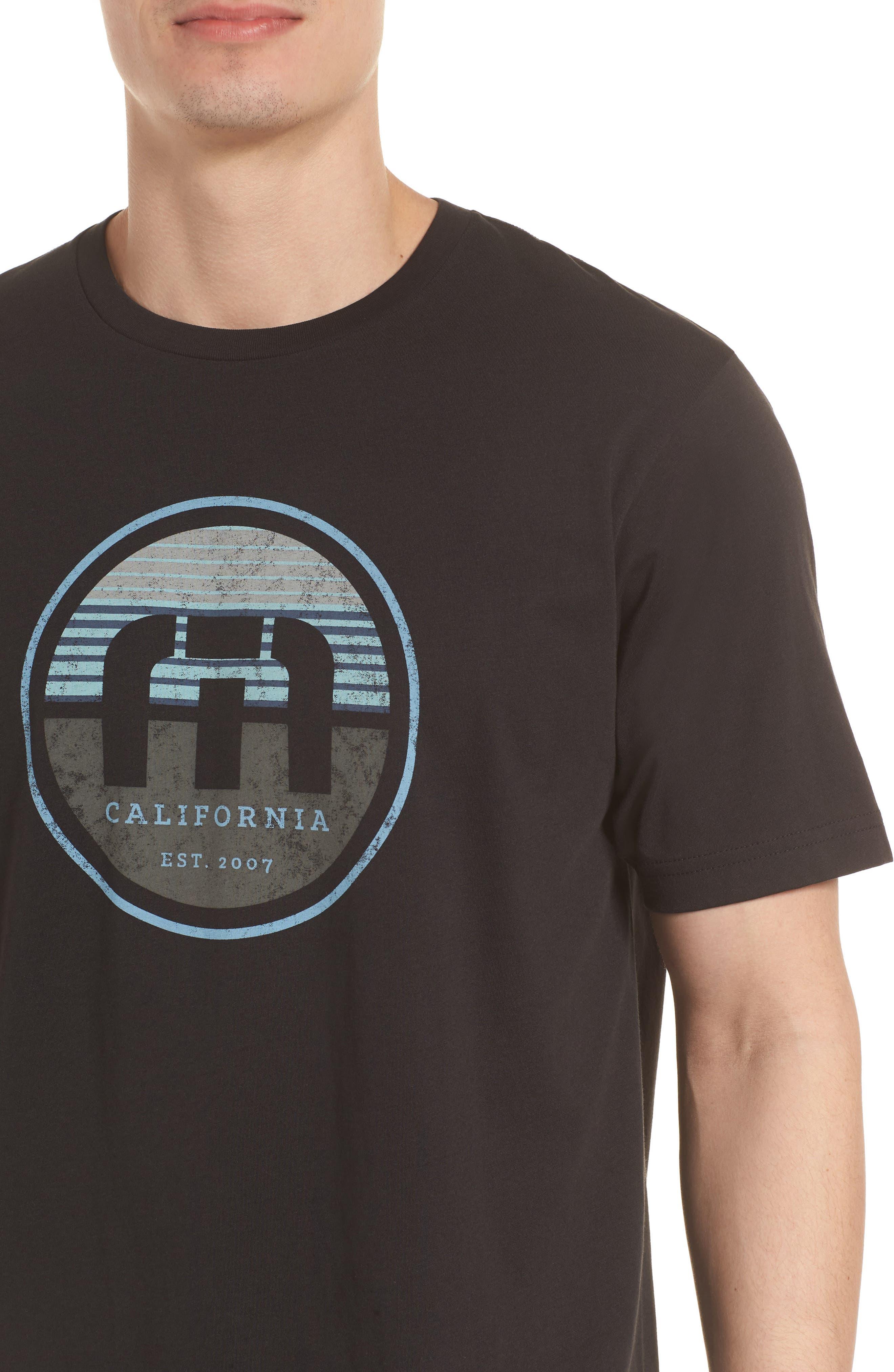 B-Stern Graphic T-Shirt,                             Alternate thumbnail 4, color,                             001