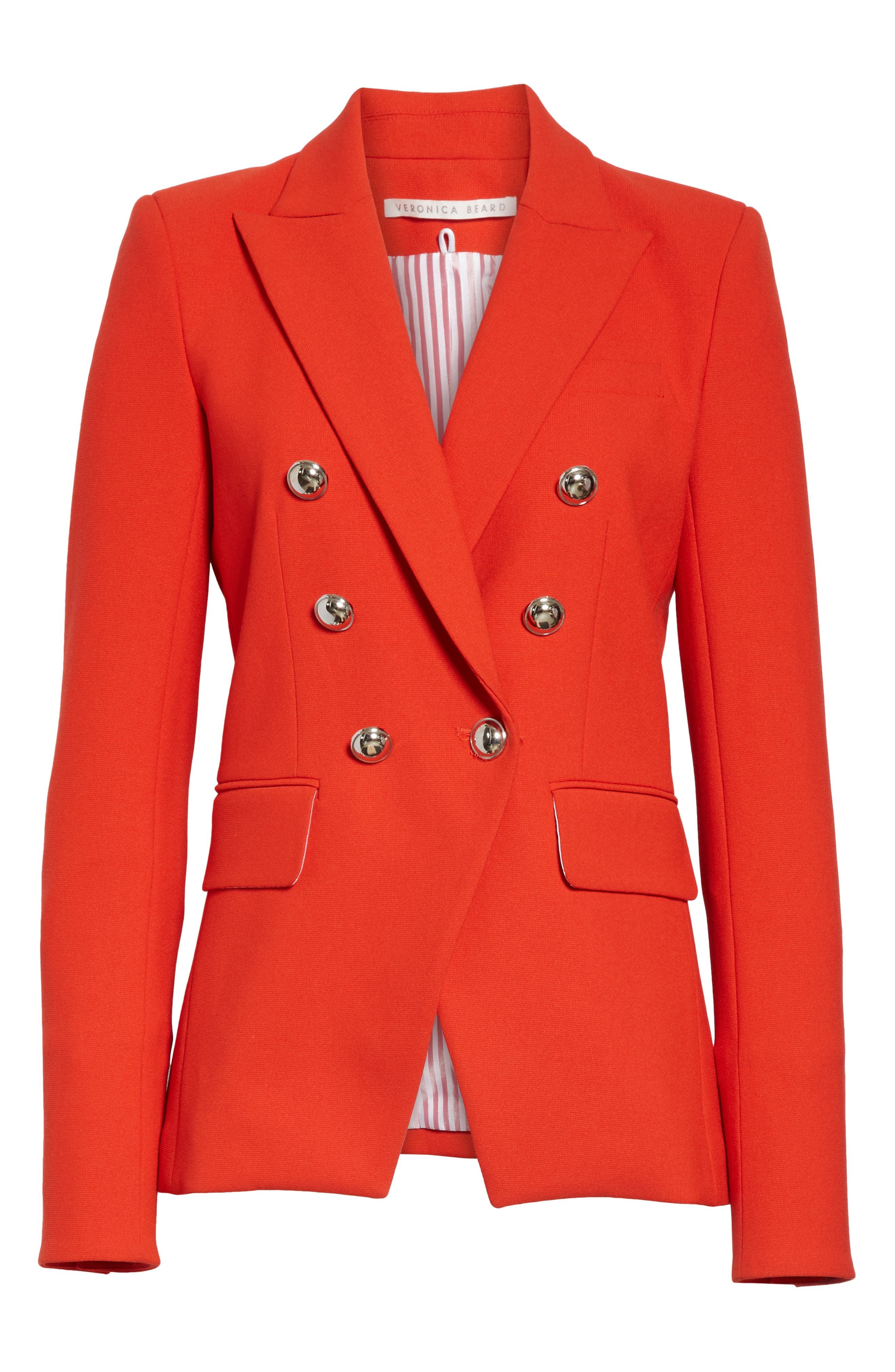 Miller Dickey Jacket,                             Alternate thumbnail 5, color,                             RED
