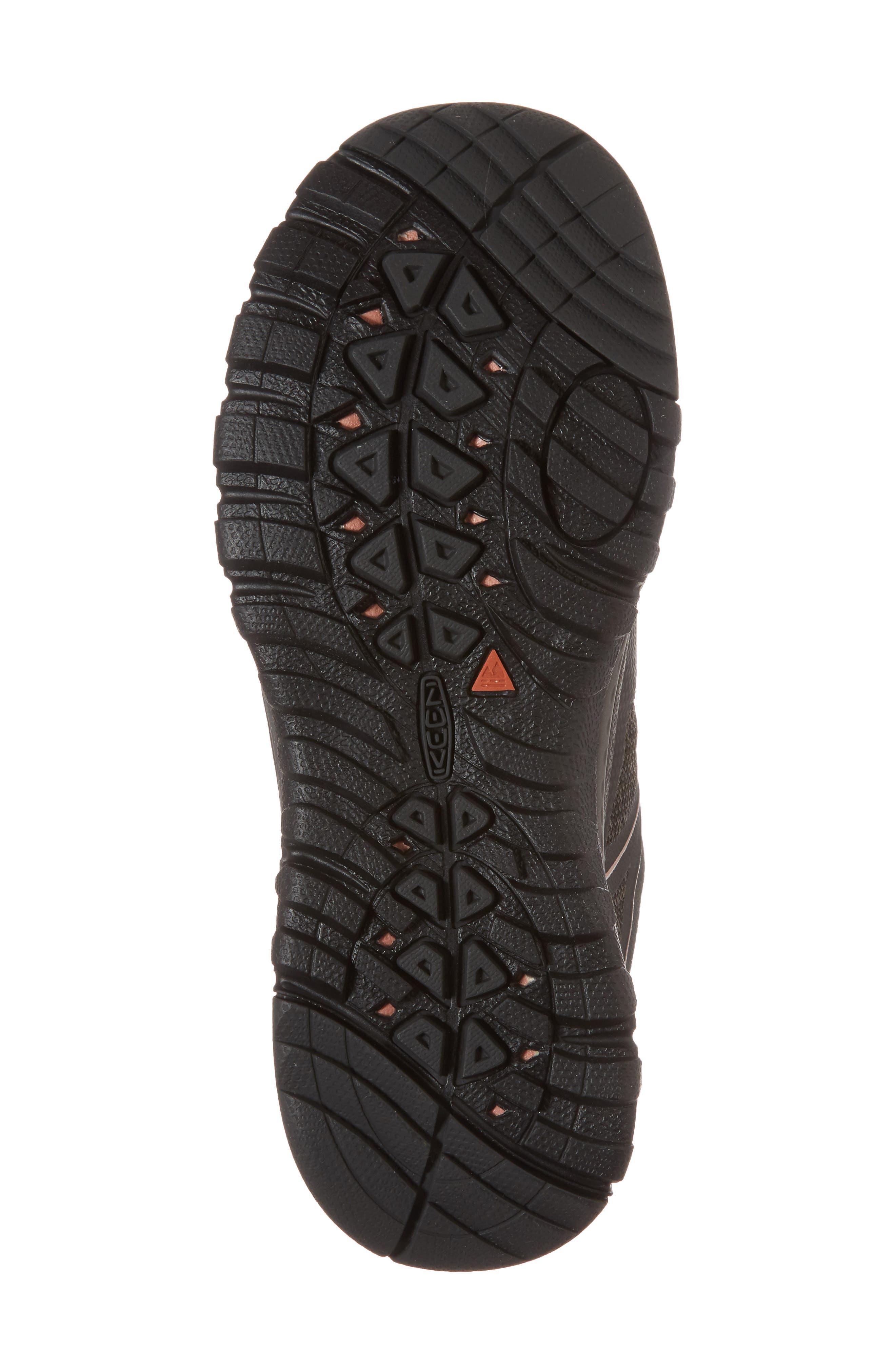 Terradora Waterproof Hiking Shoe,                             Alternate thumbnail 6, color,                             RAVEN/ ROSE DAWN