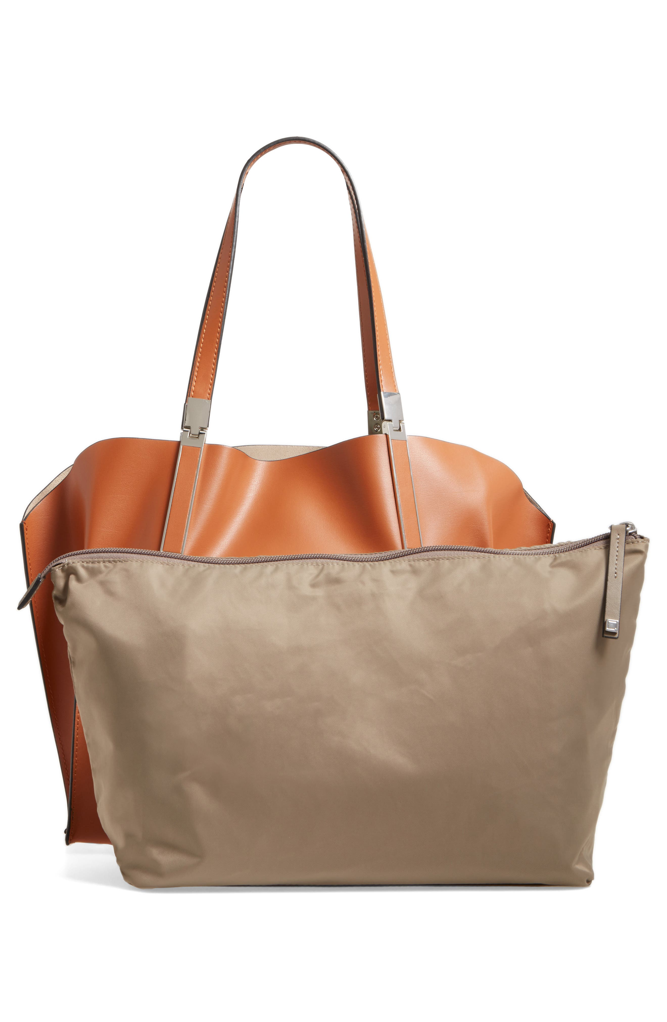 LODIS Silicon Valley Collection Under Lock & Key - Anita RFID East/West Leather Satchel,                             Alternate thumbnail 8, color,