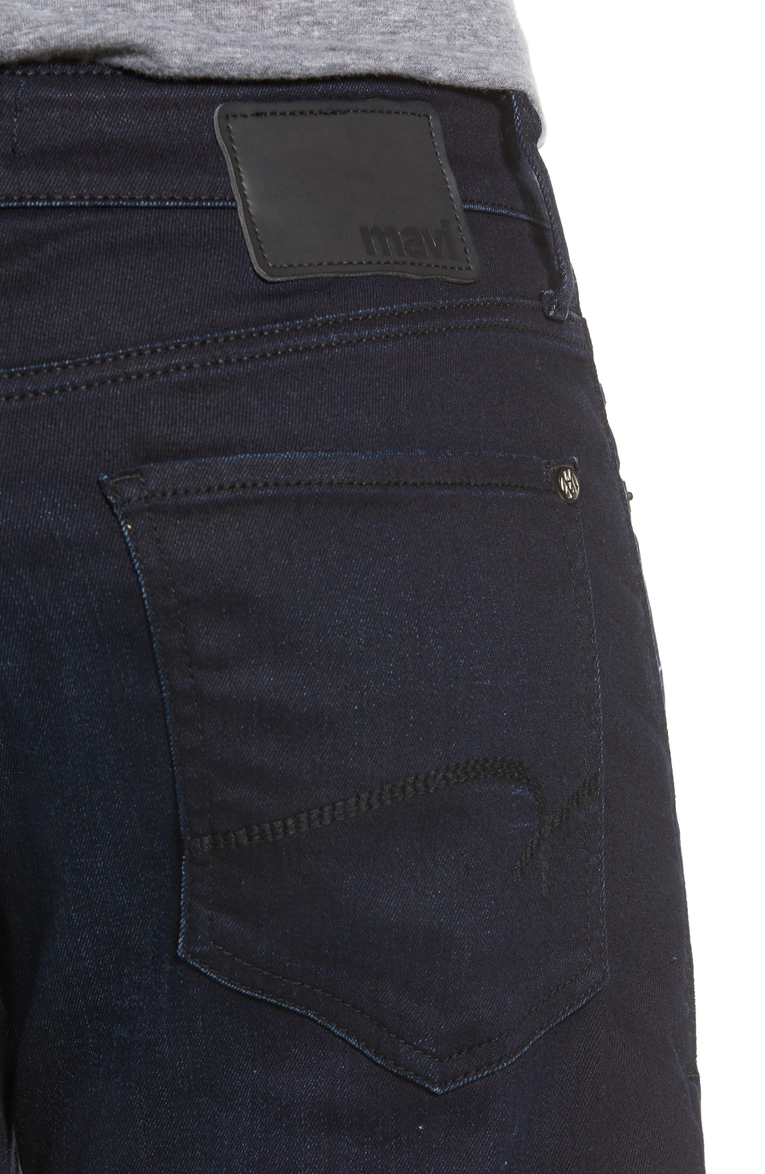 Matt Relaxed Fit Jeans,                             Alternate thumbnail 4, color,                             DEEP CAPITOL HILL
