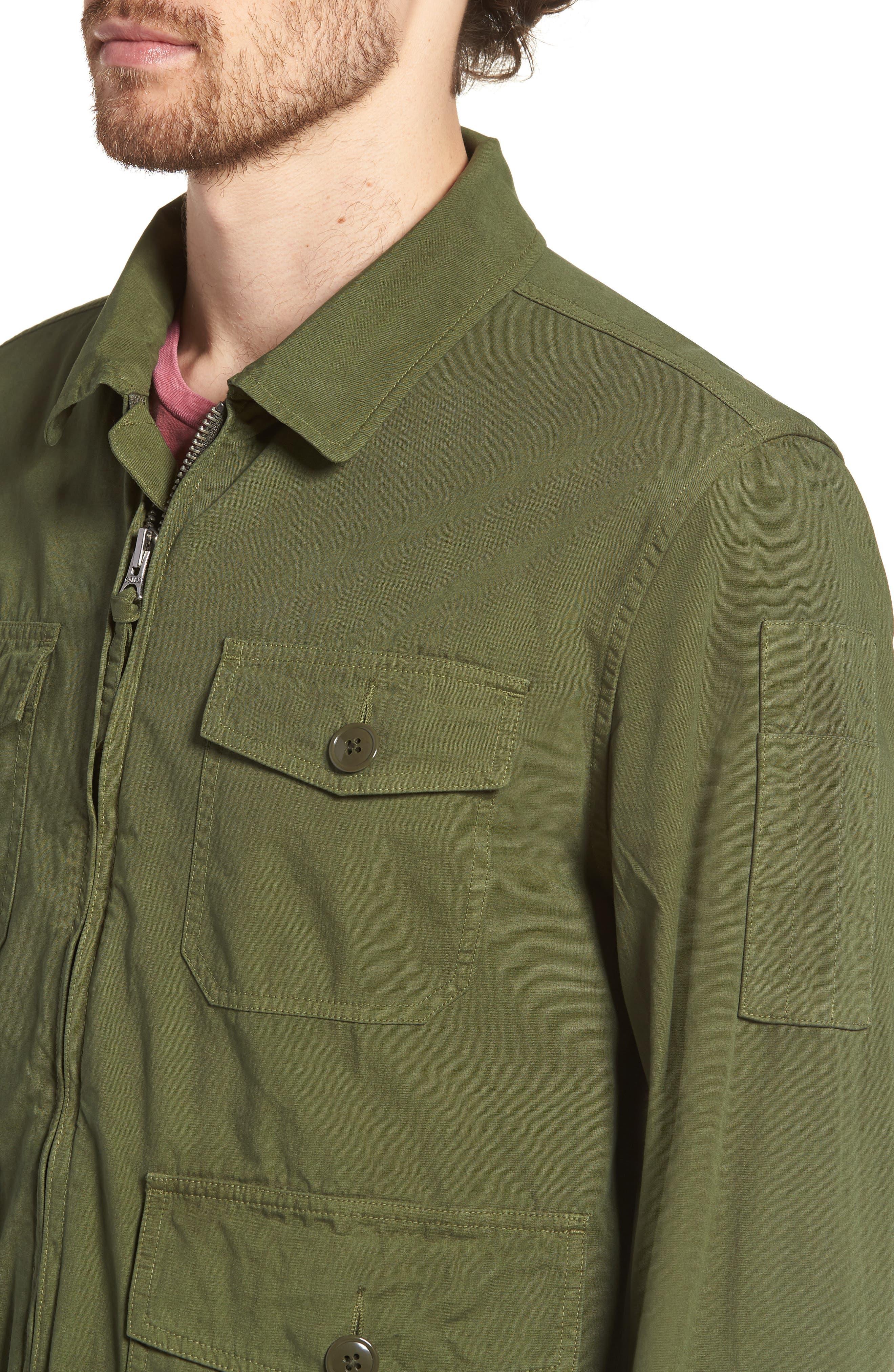 Four-Pocket Utility Jacket,                             Alternate thumbnail 4, color,                             300