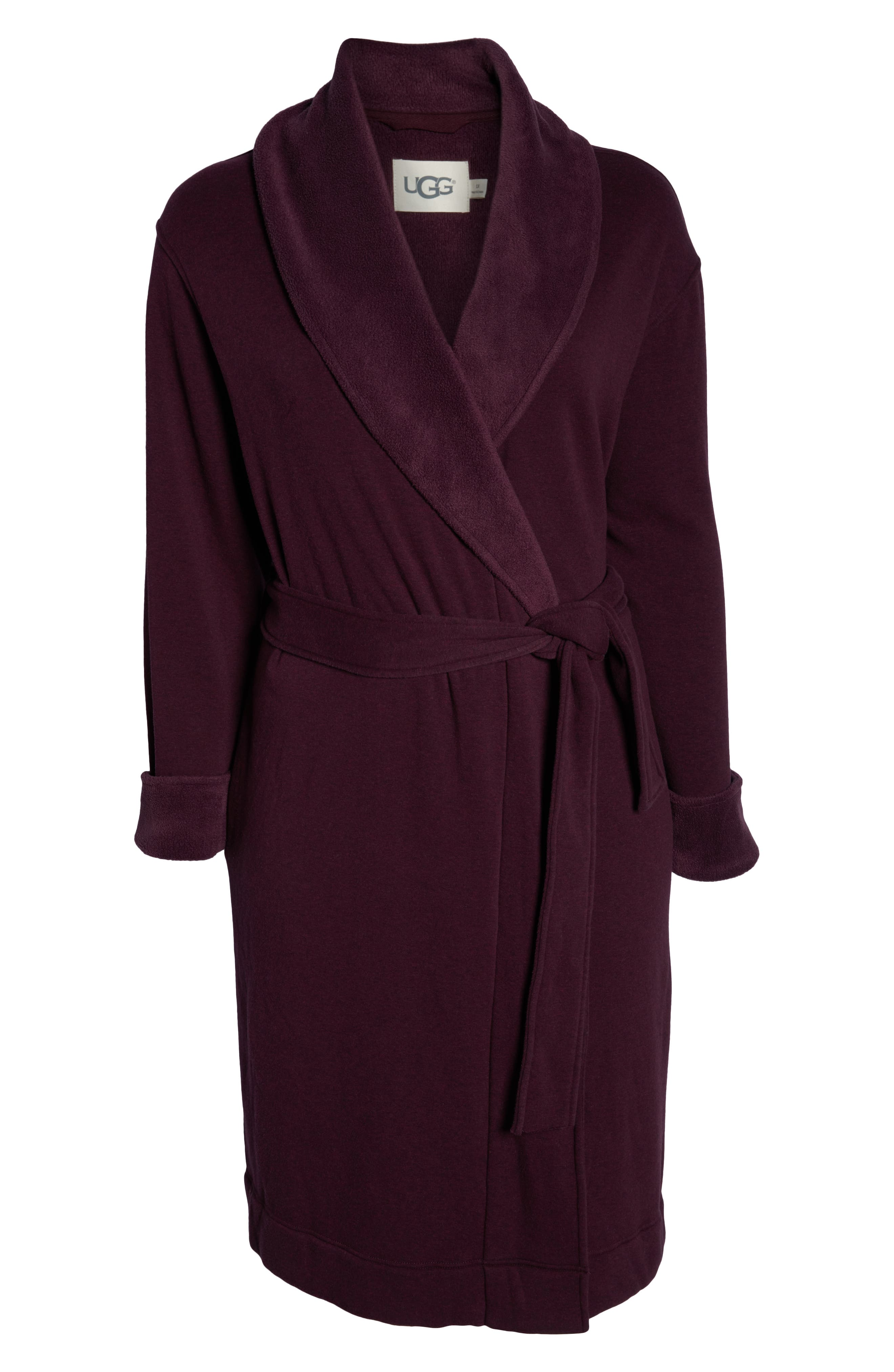 Duffield II Robe,                             Alternate thumbnail 6, color,                             PORT HEATHER