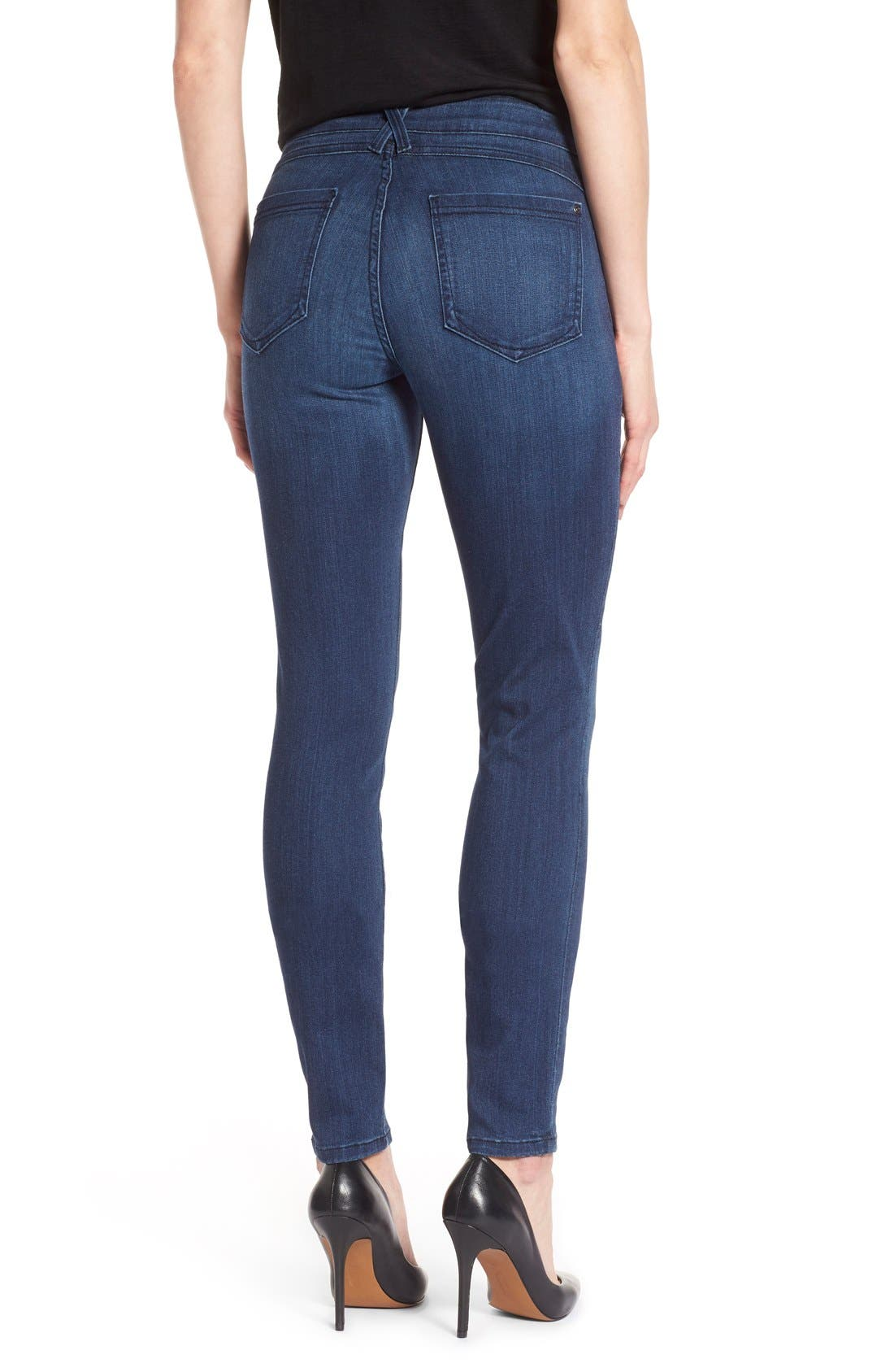 'Ami' Stretch Skinny Jeans,                             Alternate thumbnail 12, color,
