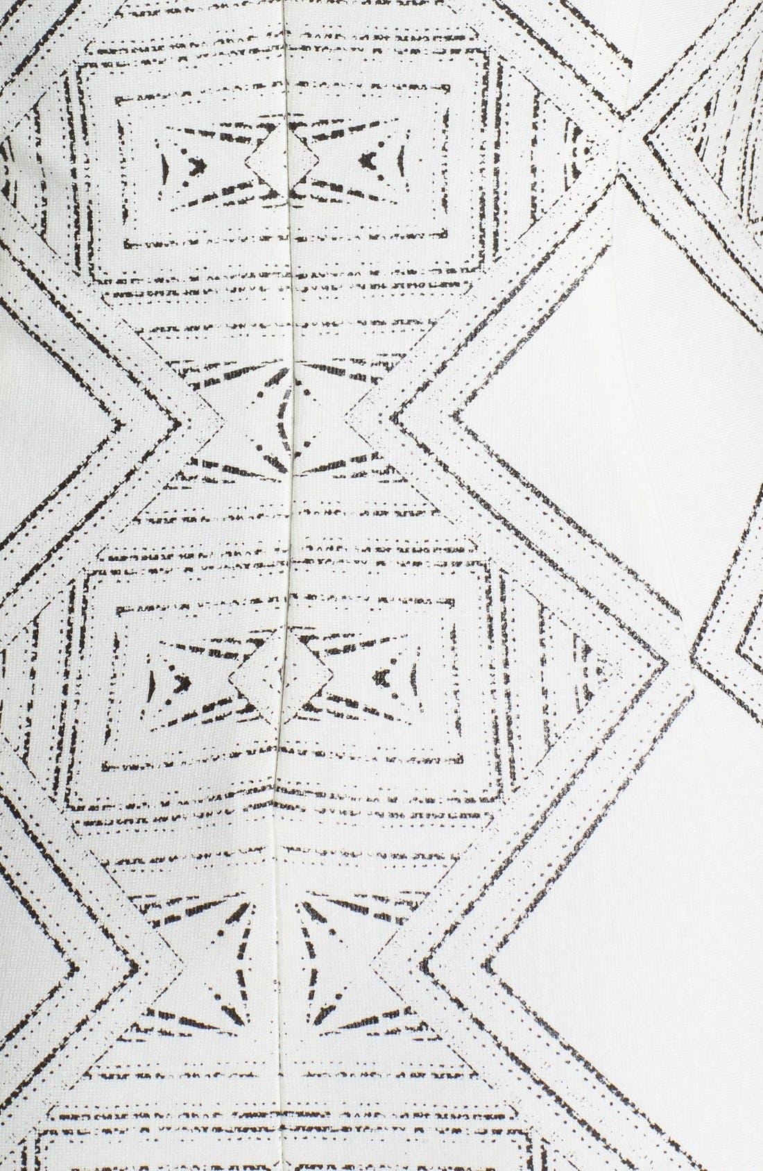'Eloise' Sleeveless Print Dress,                             Main thumbnail 1, color,                             125