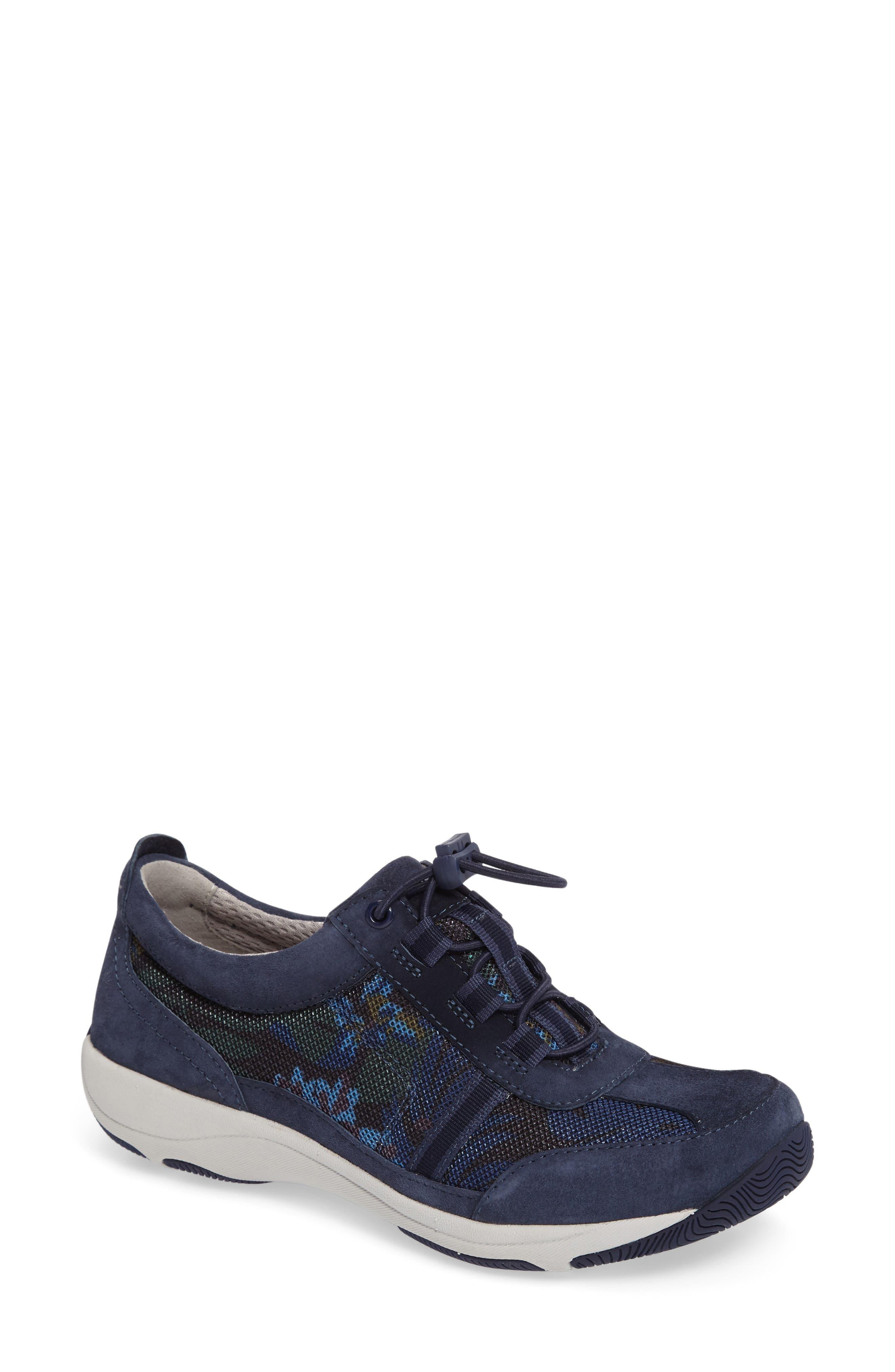 'Helen' Suede & Mesh Sneaker,                             Main thumbnail 13, color,