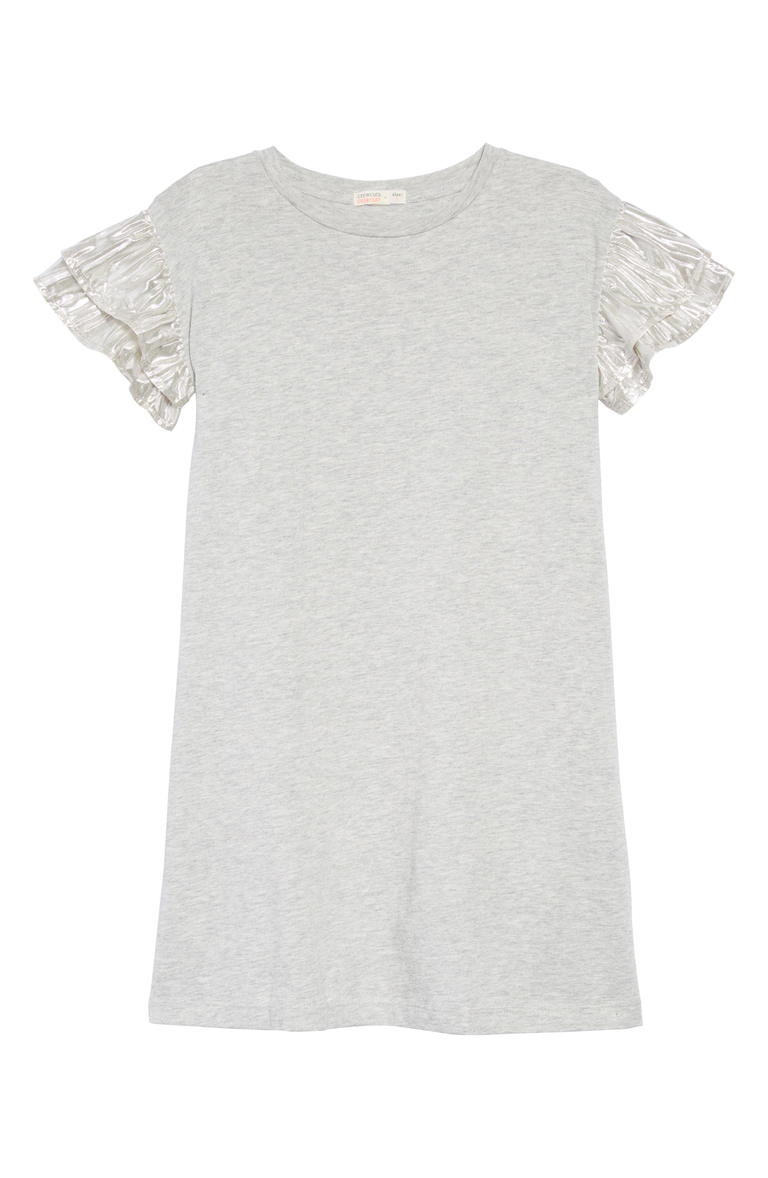 T-Shirt Dress,                             Main thumbnail 1, color,                             HEATHER DUSK